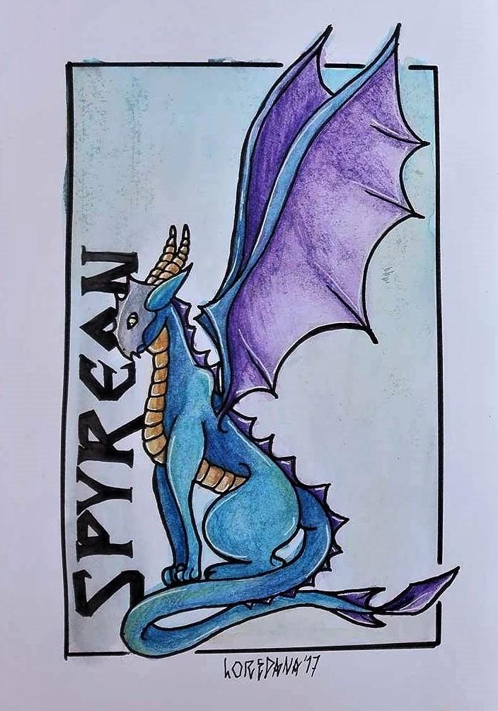 Spyreon dragontype