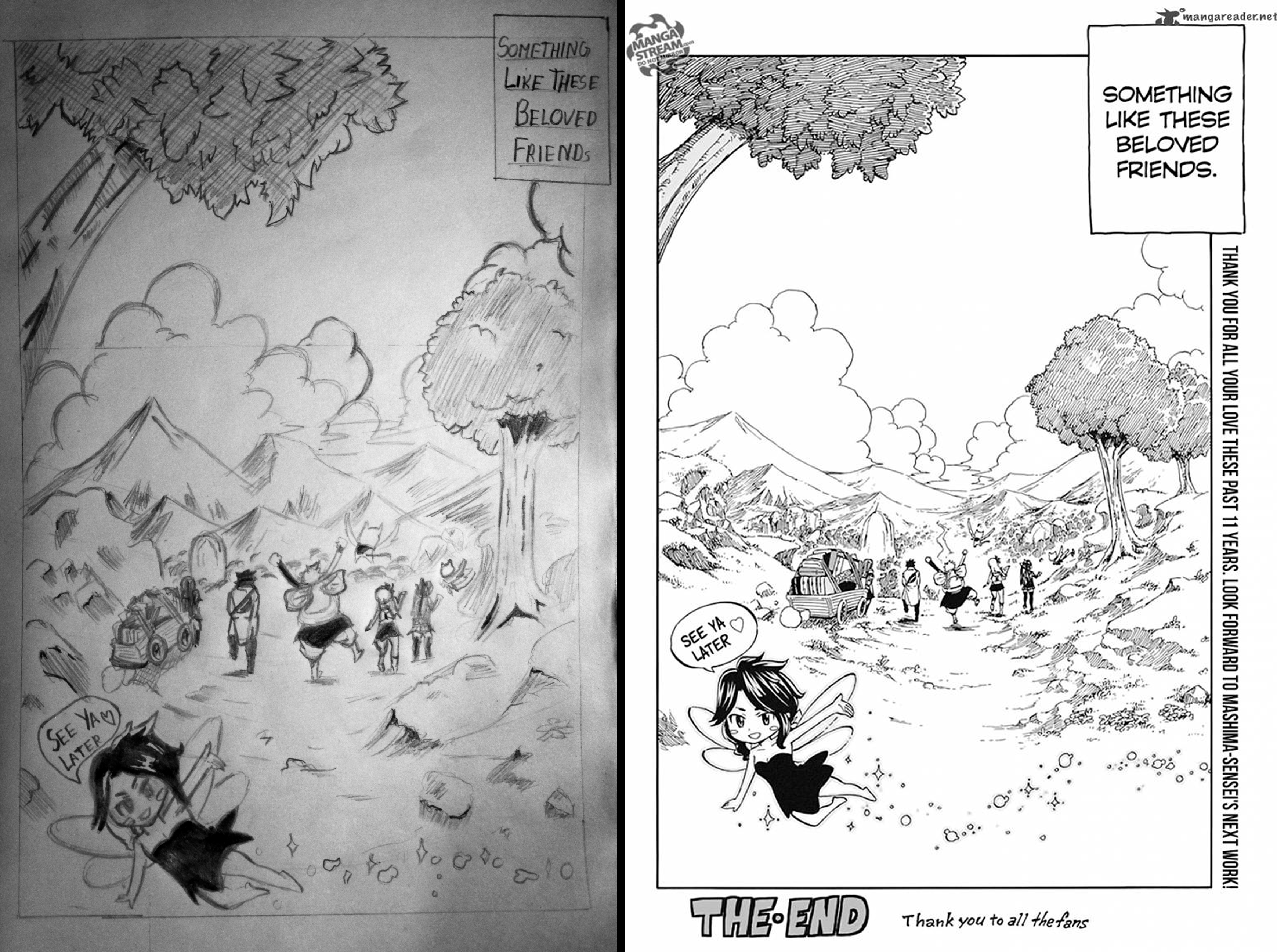 FairyTail Last Chapter Last Page