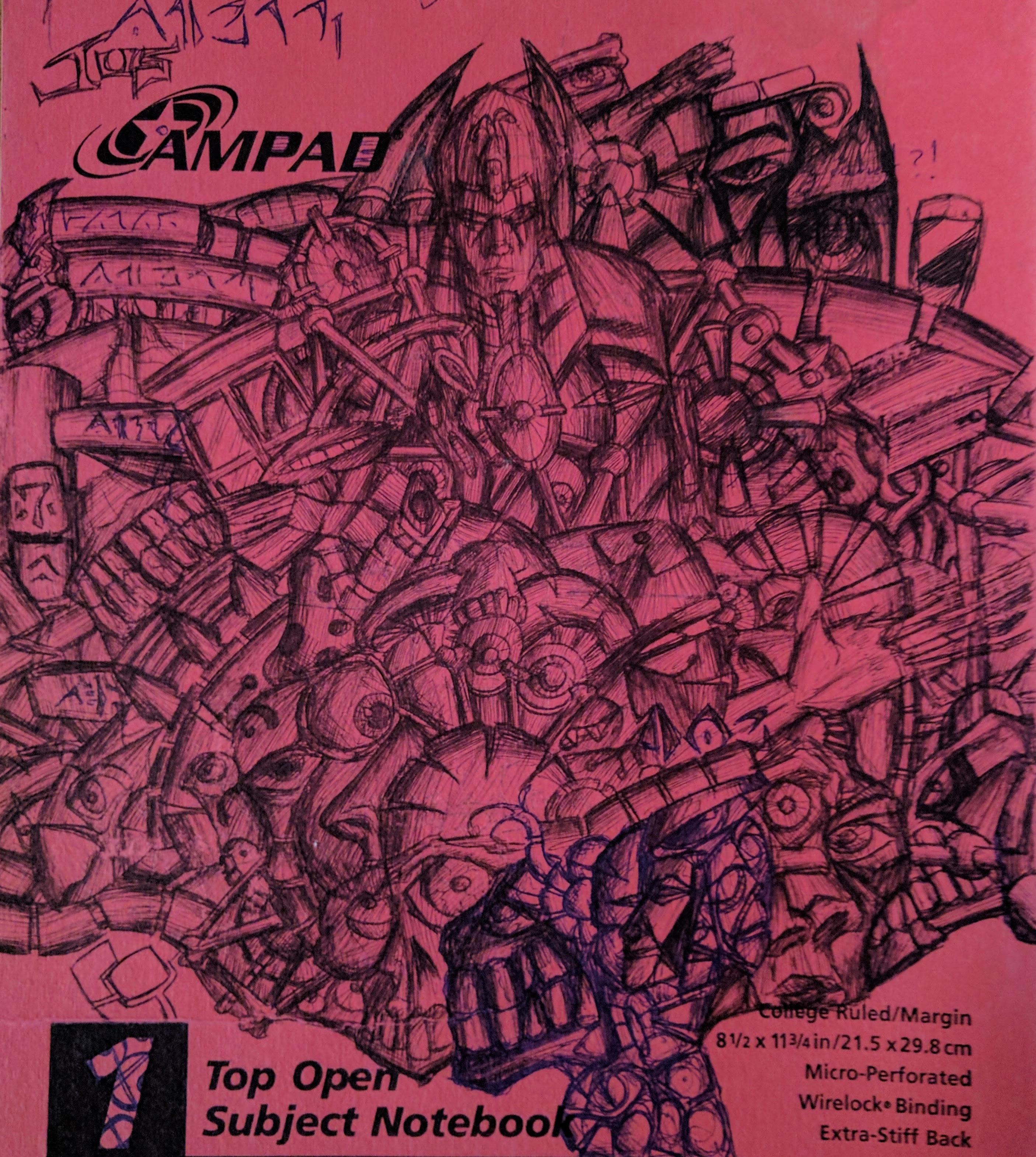 Random Doodling (circa 1990s)
