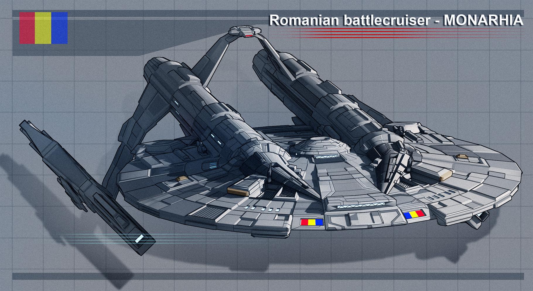 Romanian battlecruiser