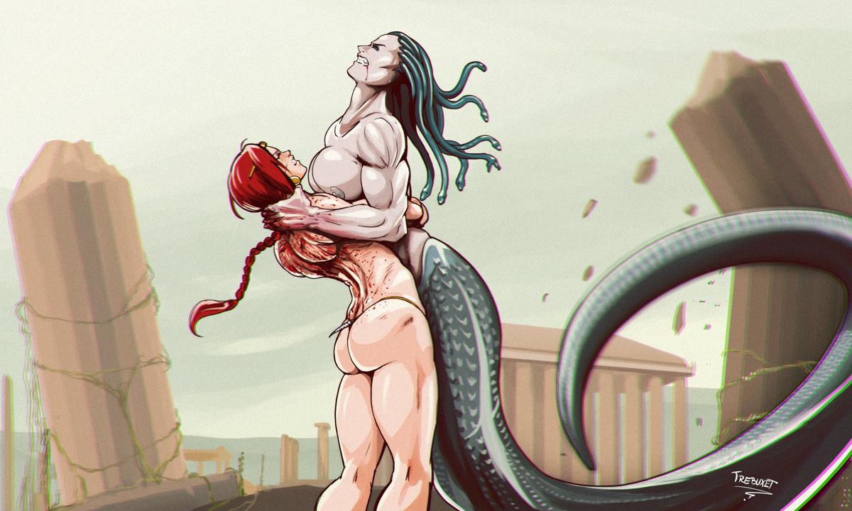 Red vs Medusa 3