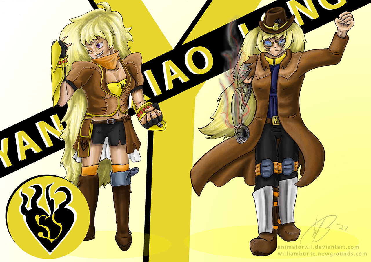 Yang Xiao Long - Levelled Up