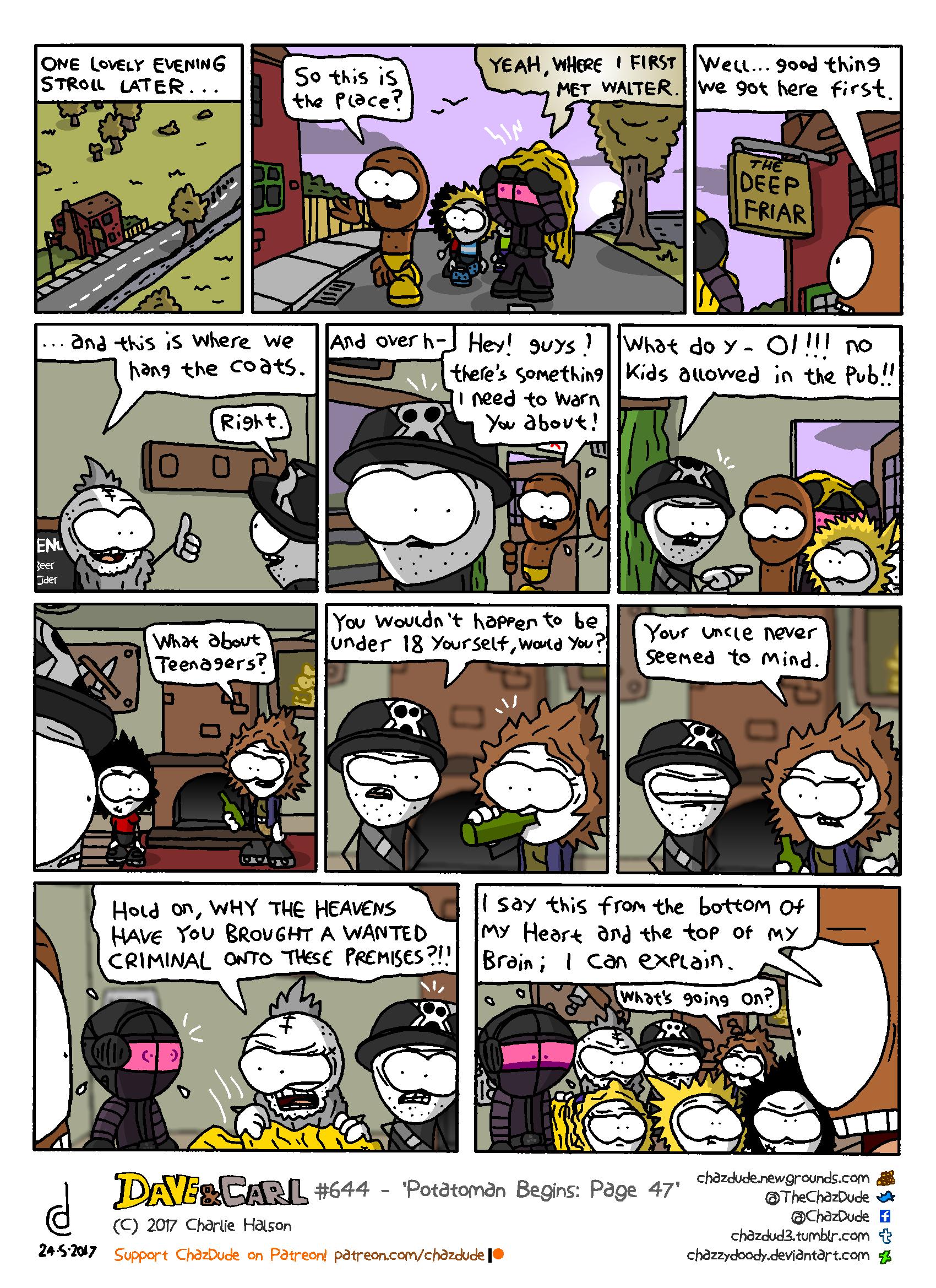 Potatoman Begins: Page 47