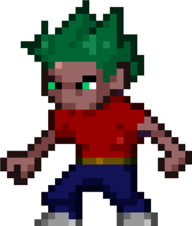 my first pixel guy