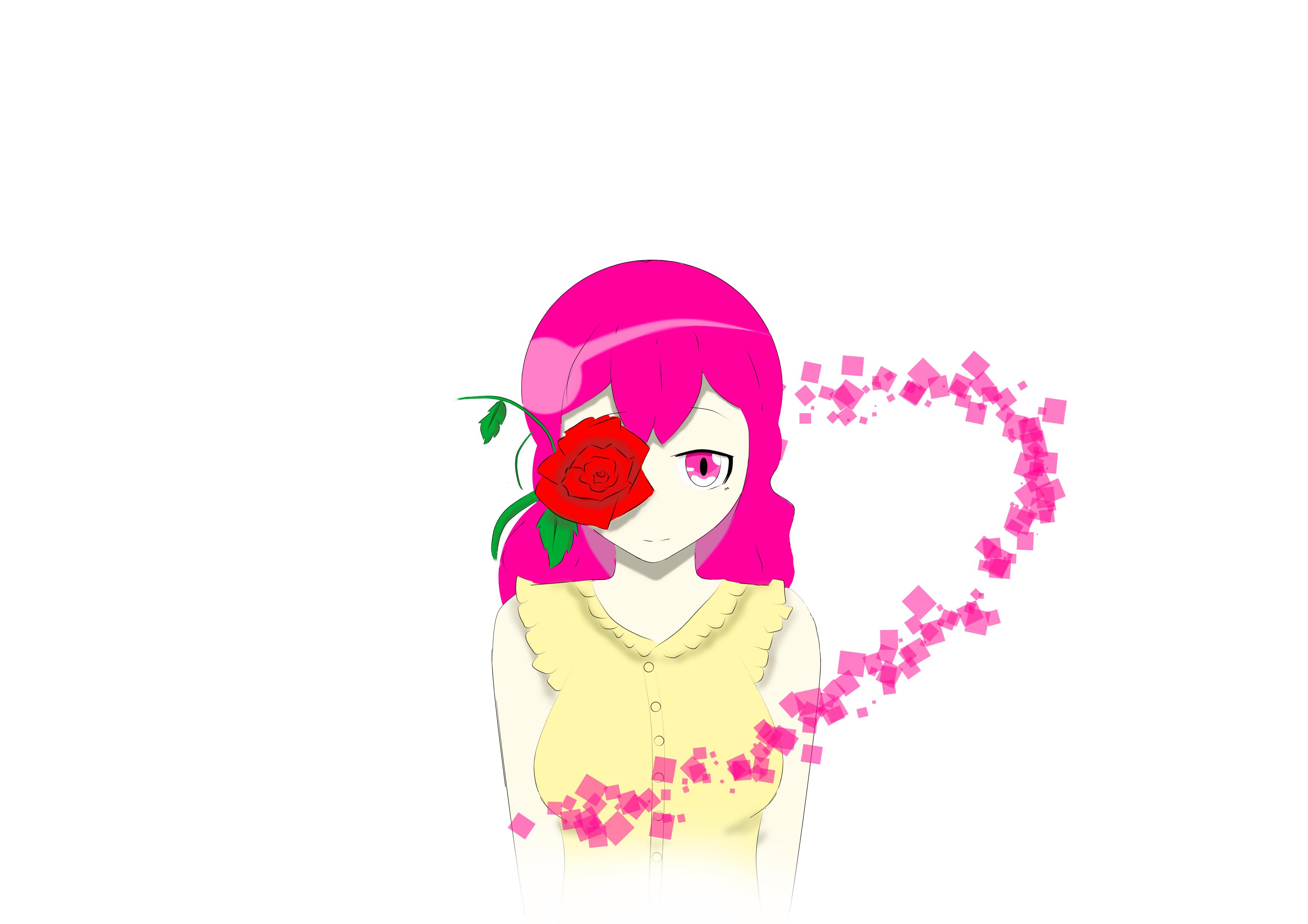 She likes Roses