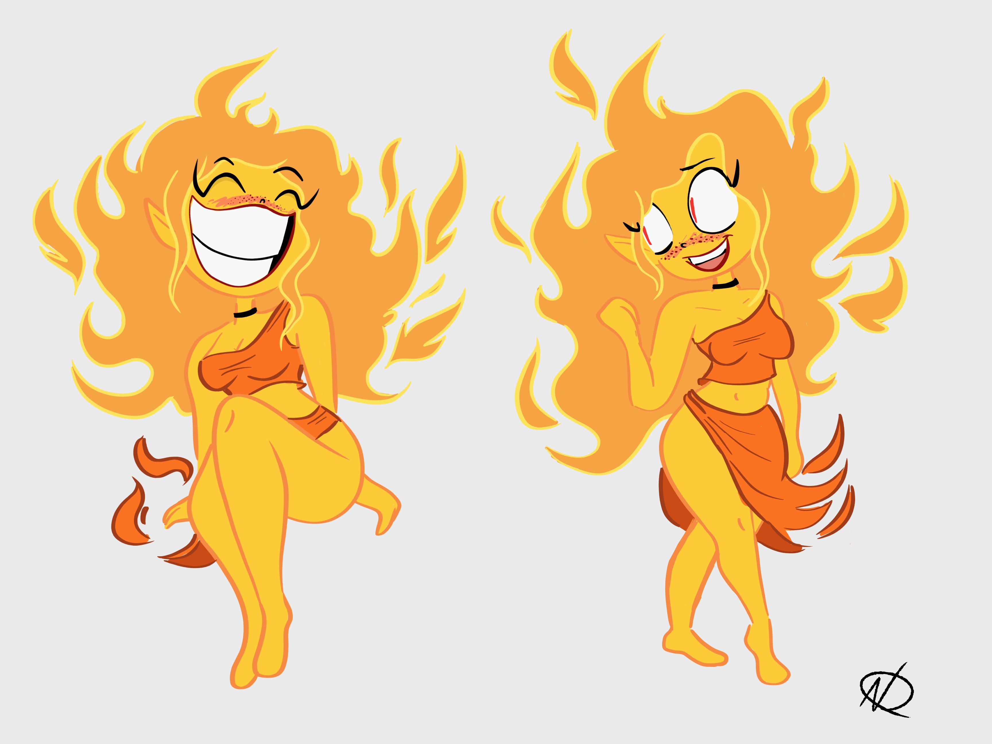 Flame Girl 2