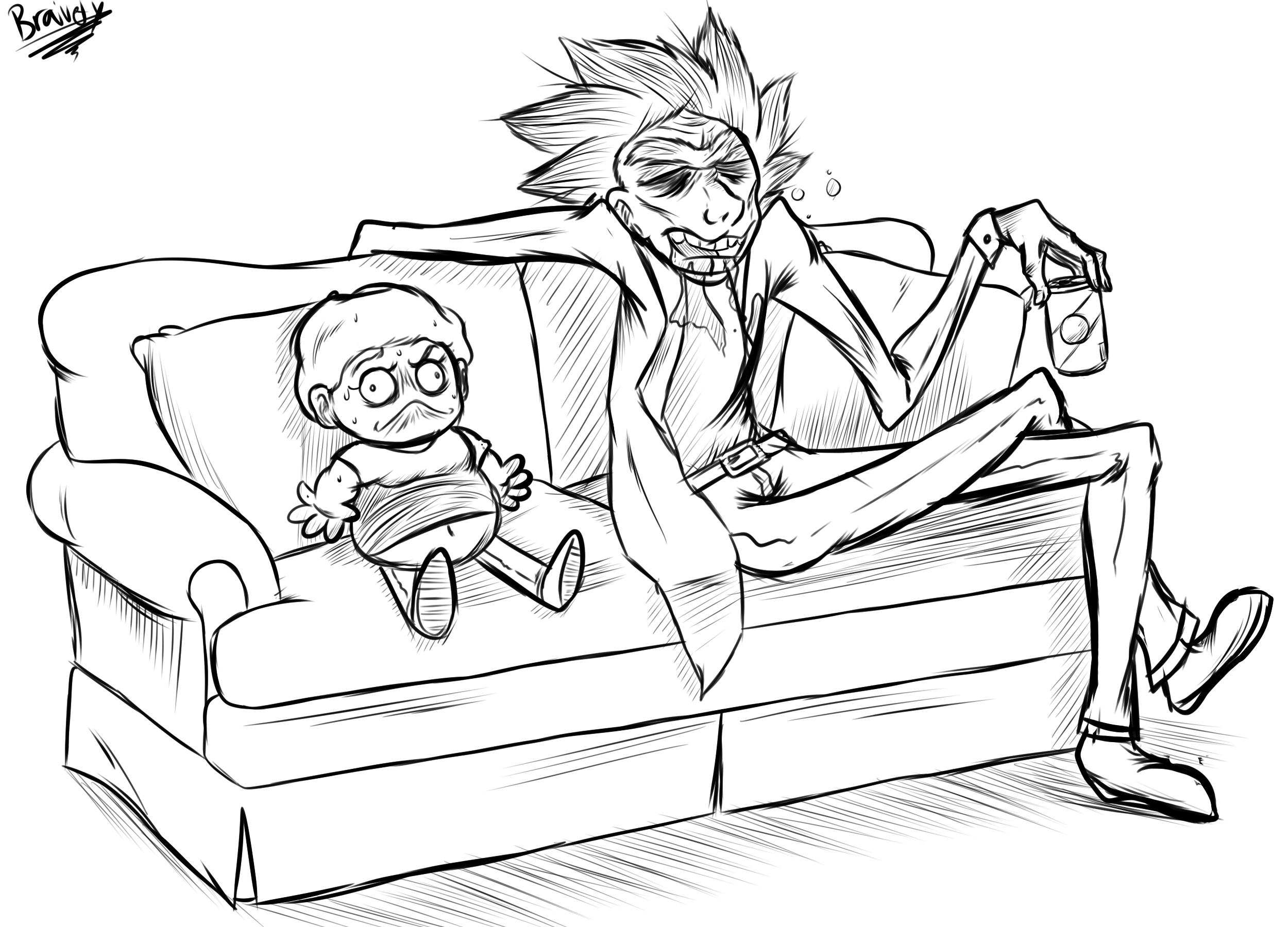 Rick and Morty Warmup