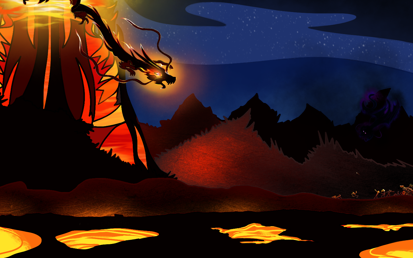|| Dragons | Fire+Shadow ||