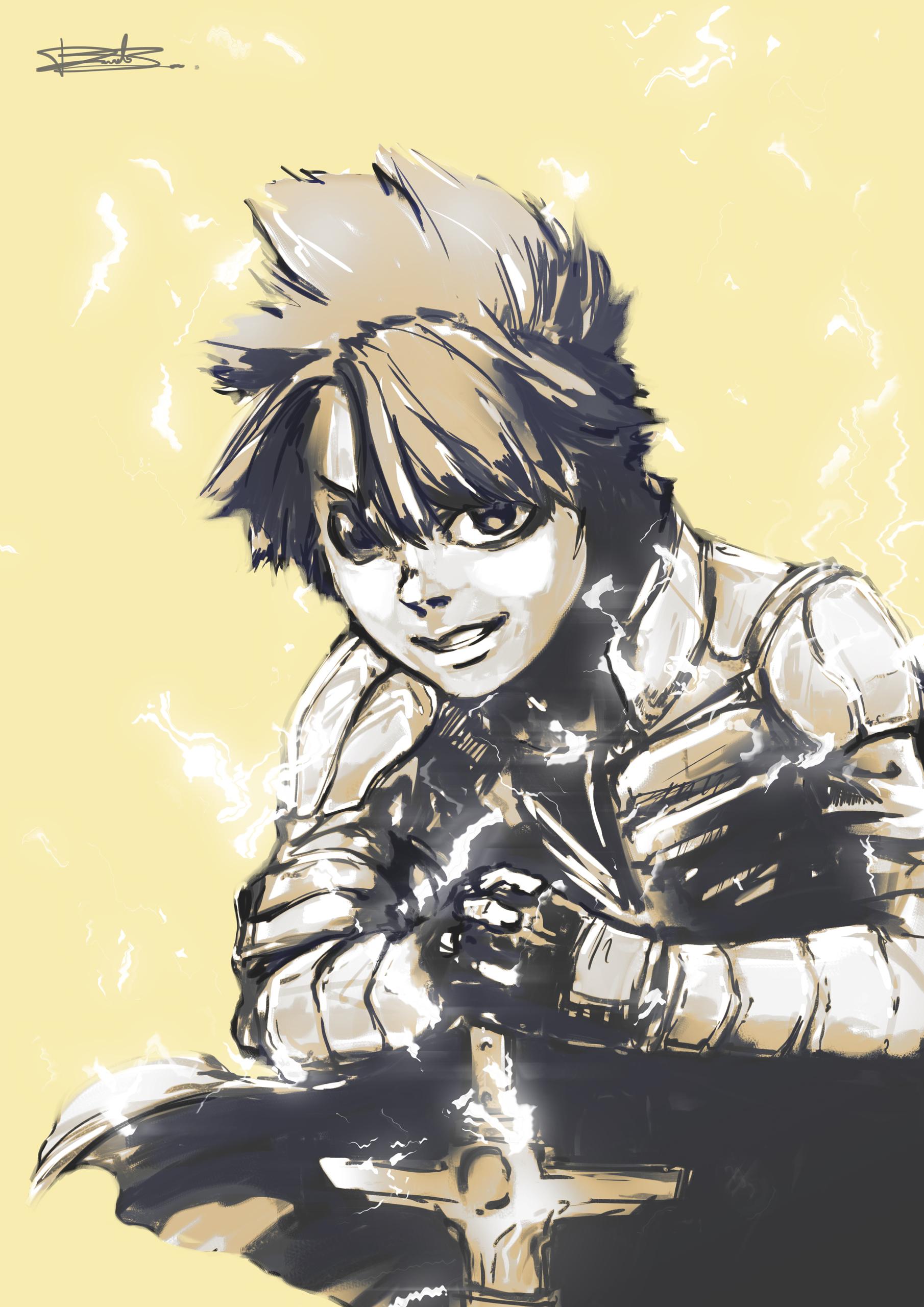 AwW Character Art - Leo