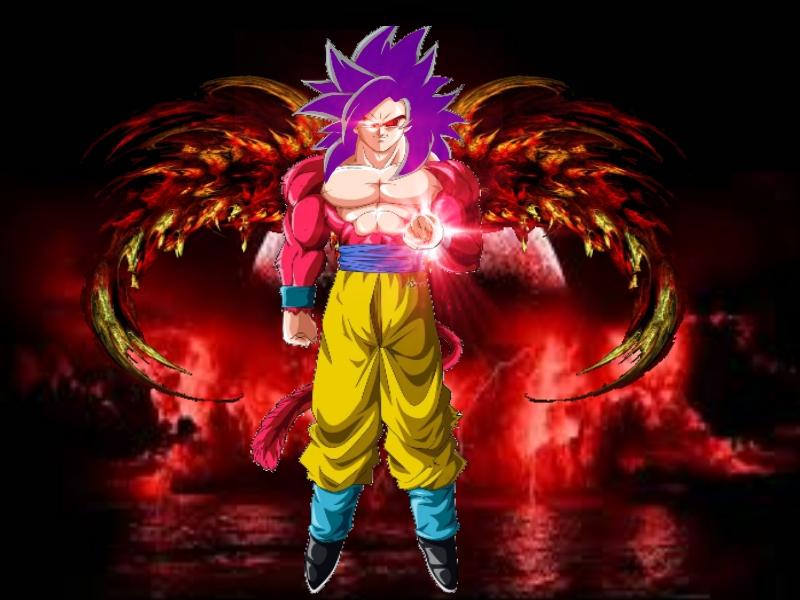 Goku Super Saiyan 4 (Demon)