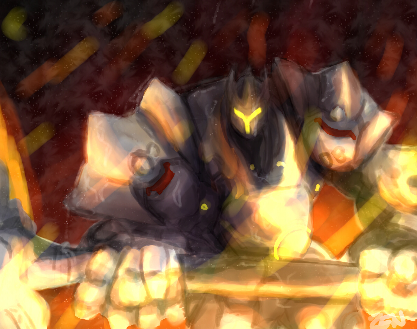 Reinhardt Throught the fire and the flame!