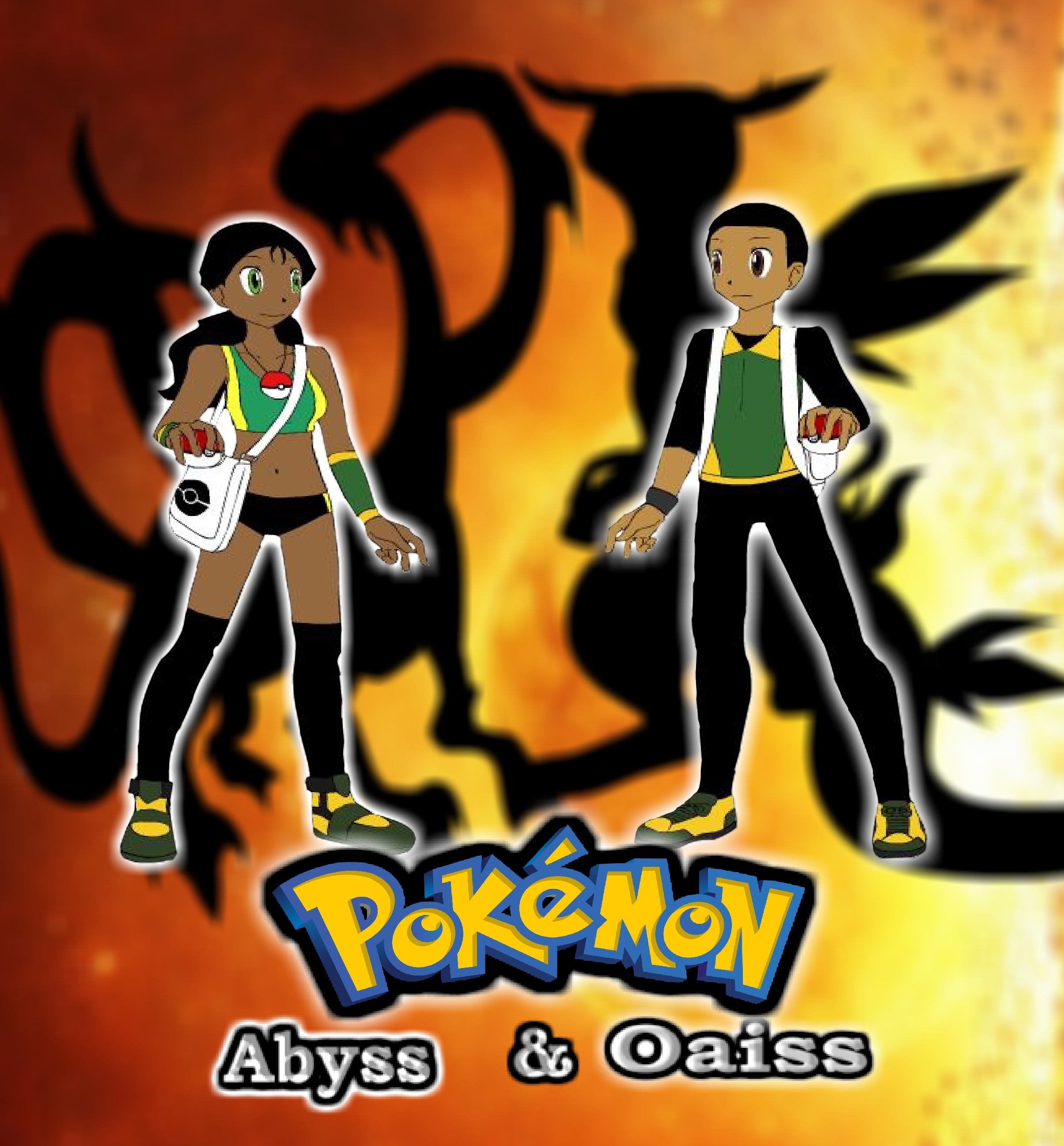 Pokemon Abyse and Oaisis pic 1