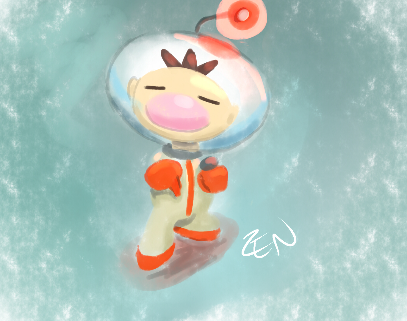 Ollie olimar dropping the mic