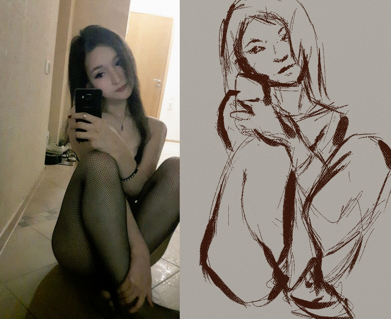 |STUDY| |SKETCH| Underpainting I was proud with