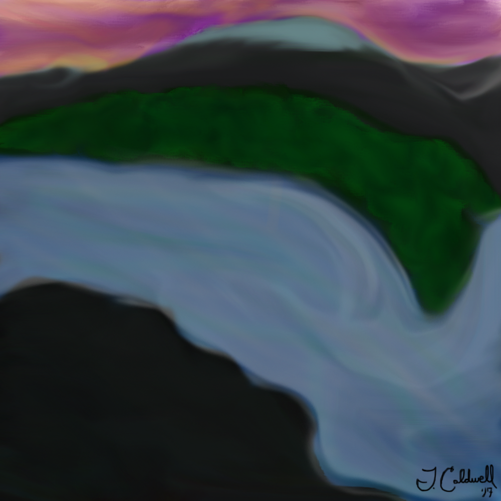 my first photoshop painting