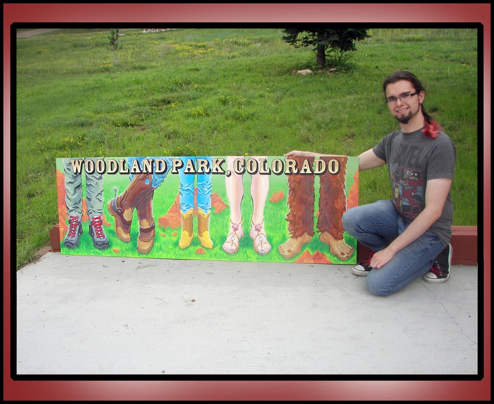 Woodland Park Colorado Boot board