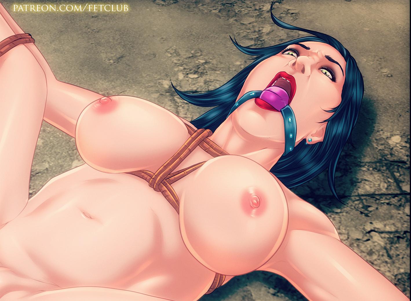 Gagged Slave girl
