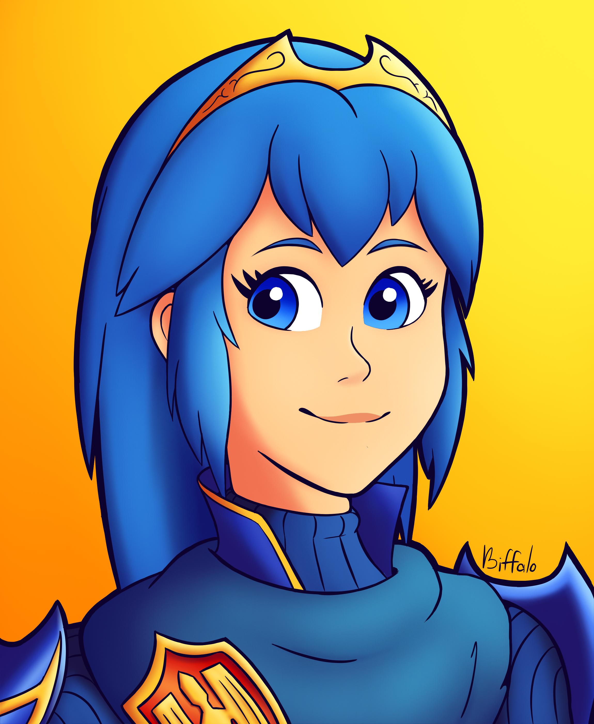 Blue Hair Waifu