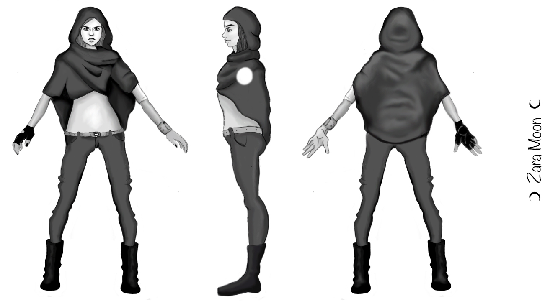 Character Design Turnaround