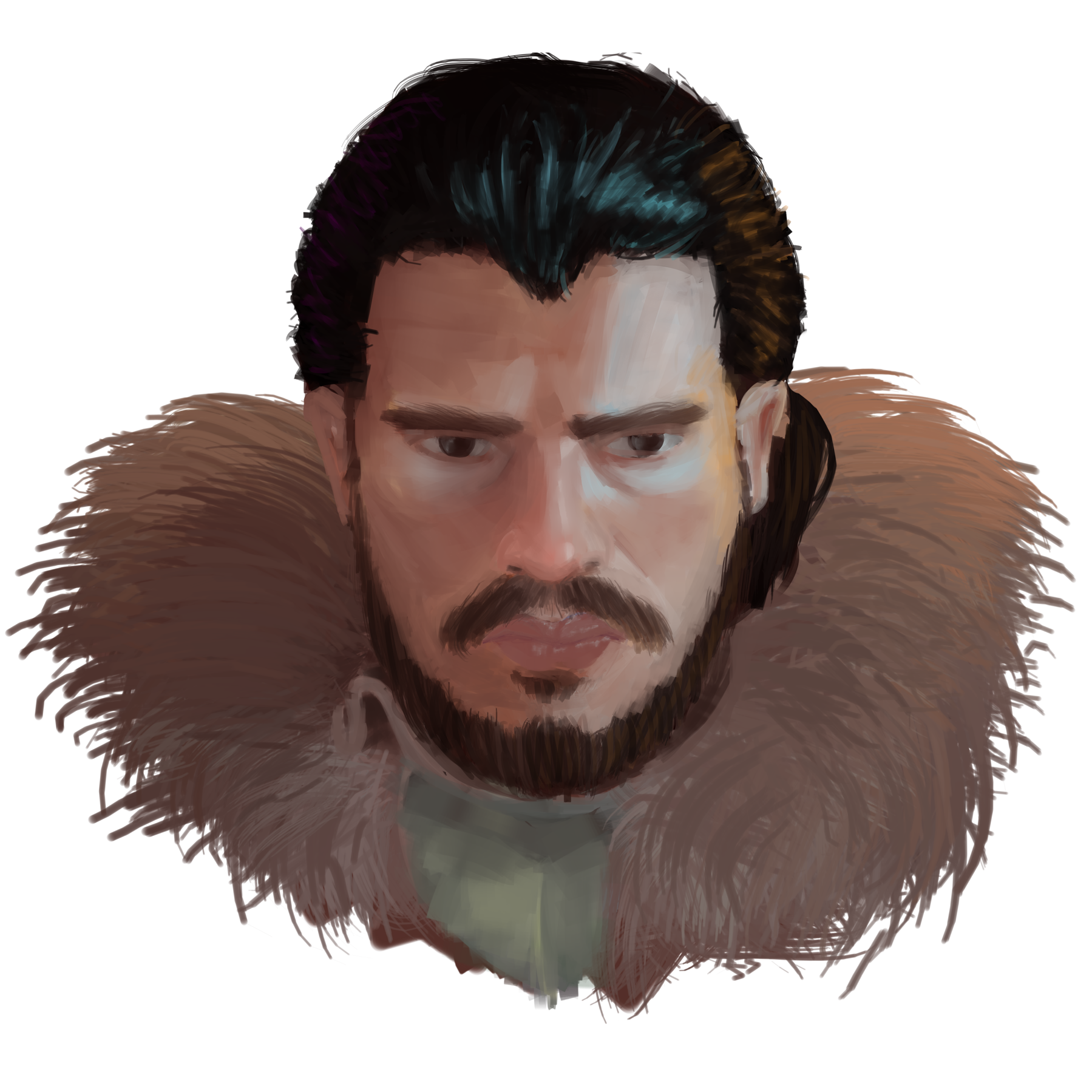 Just Another Jon Snow Painting