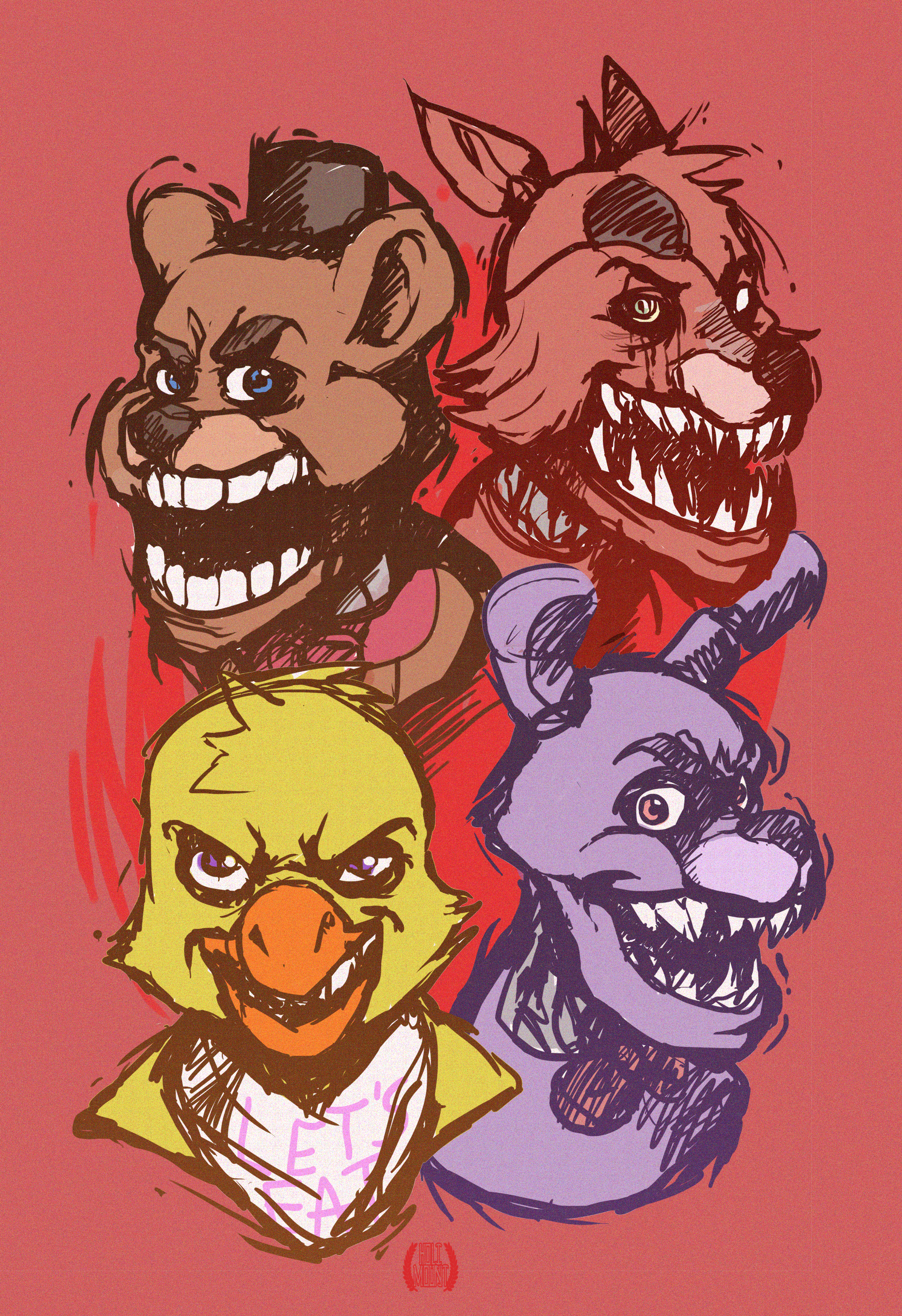 Five Nights at freddies.