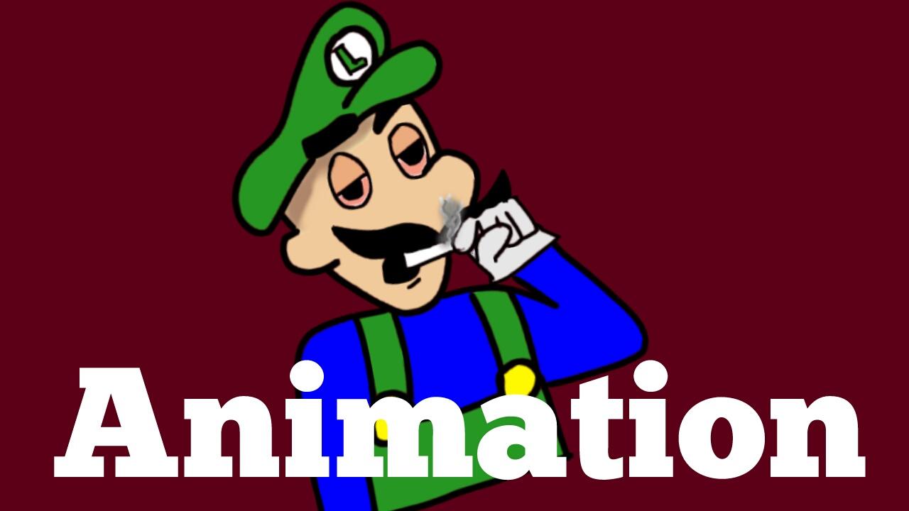 Mario says no to drugs (Animation)