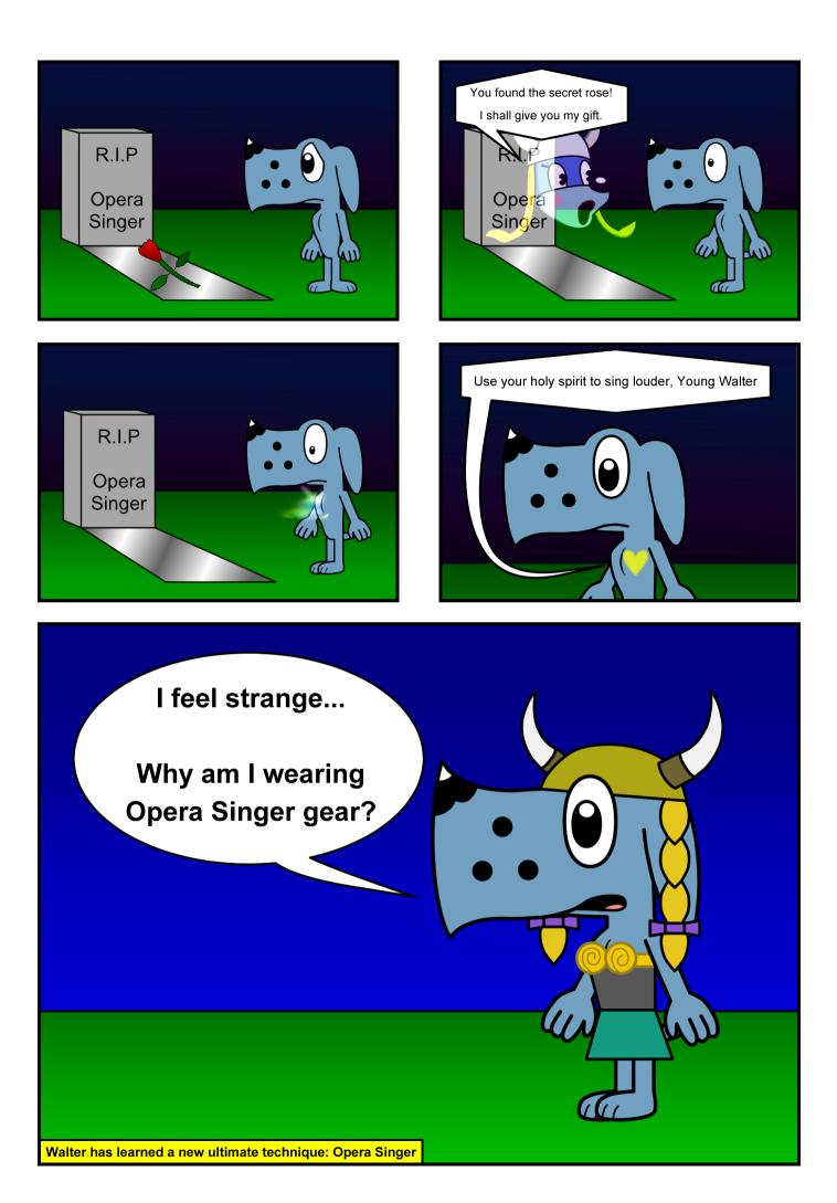 Walter the Opera Singer Comic