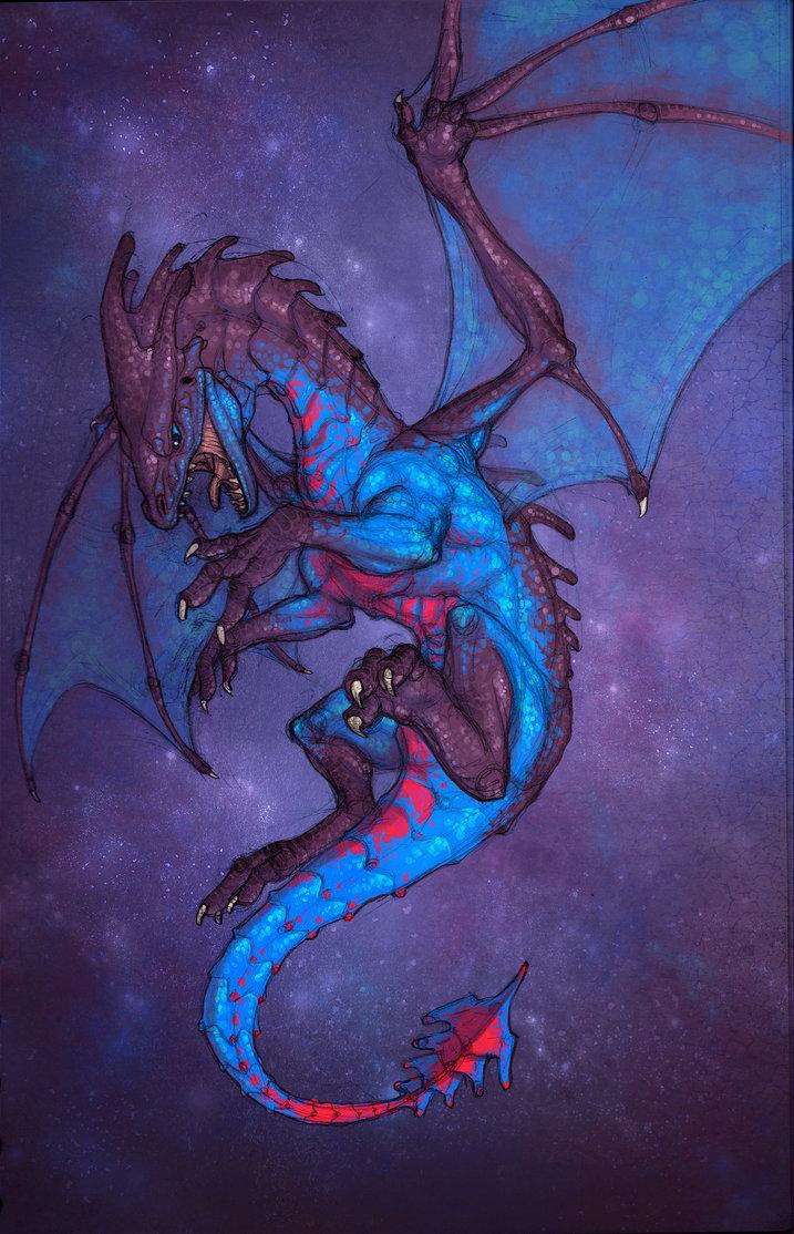 Space Dragon Concept - 2016