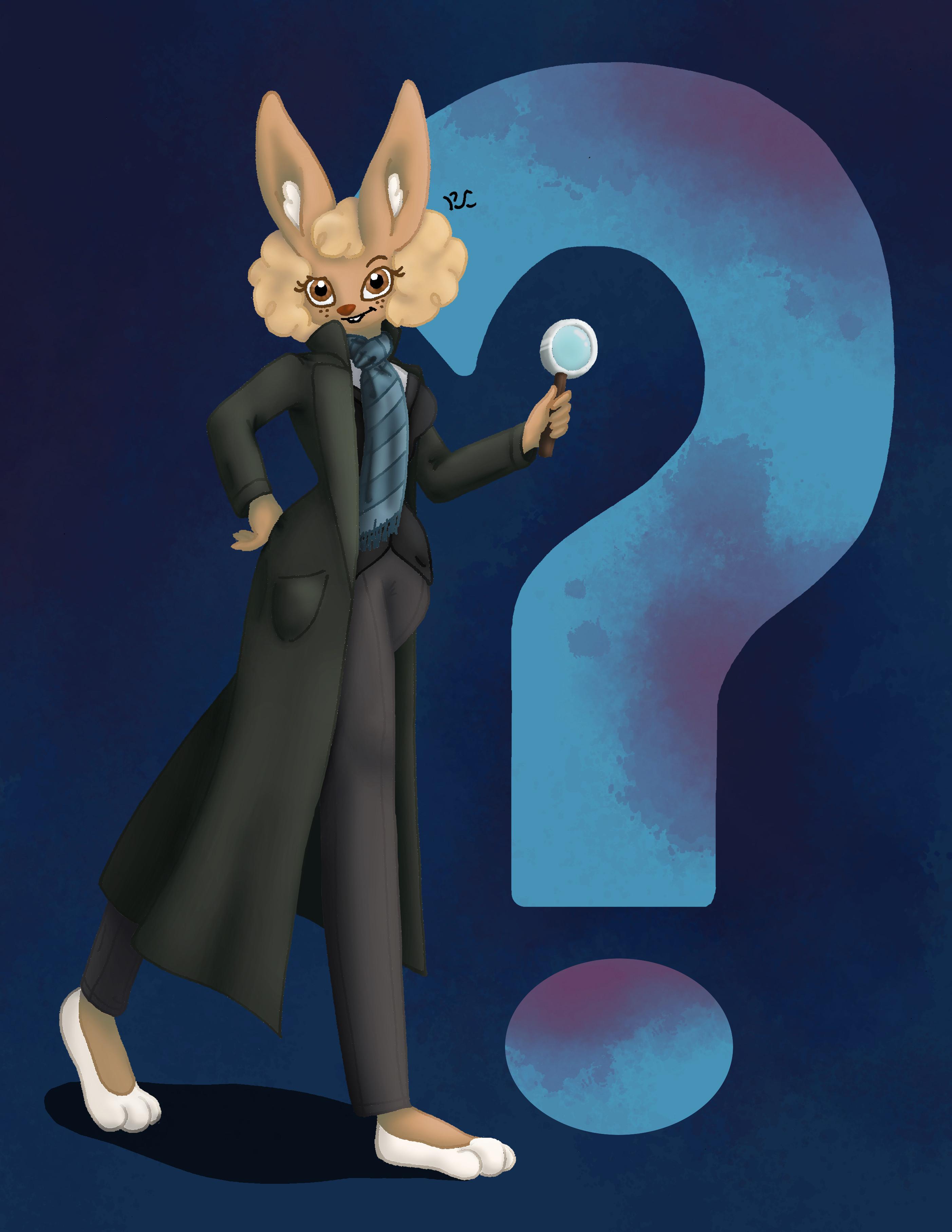 Sherlock Bunny