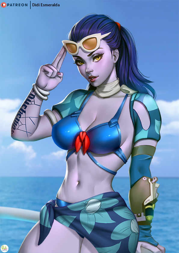 Widowmaker Summer Games Skin 2017