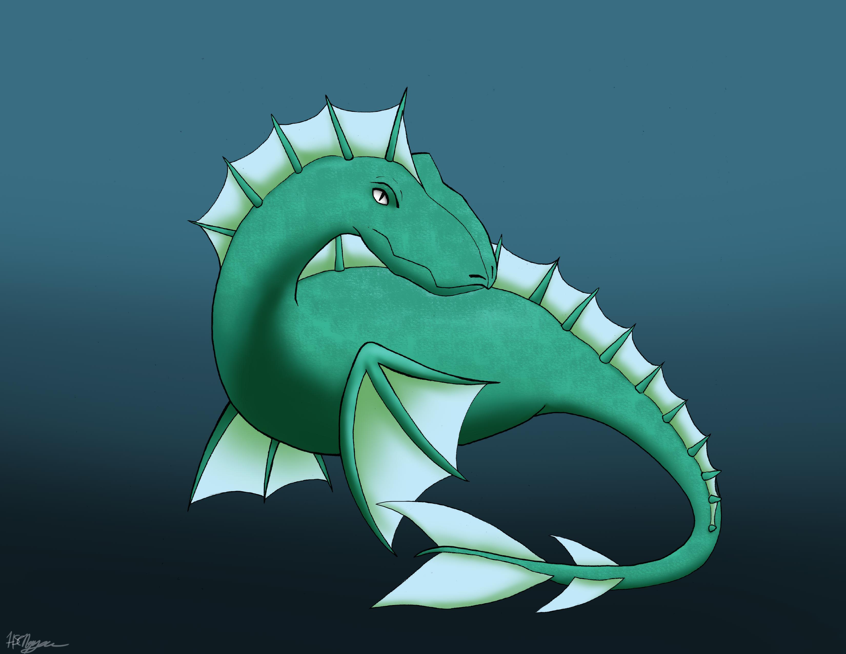 Underwater Dragon