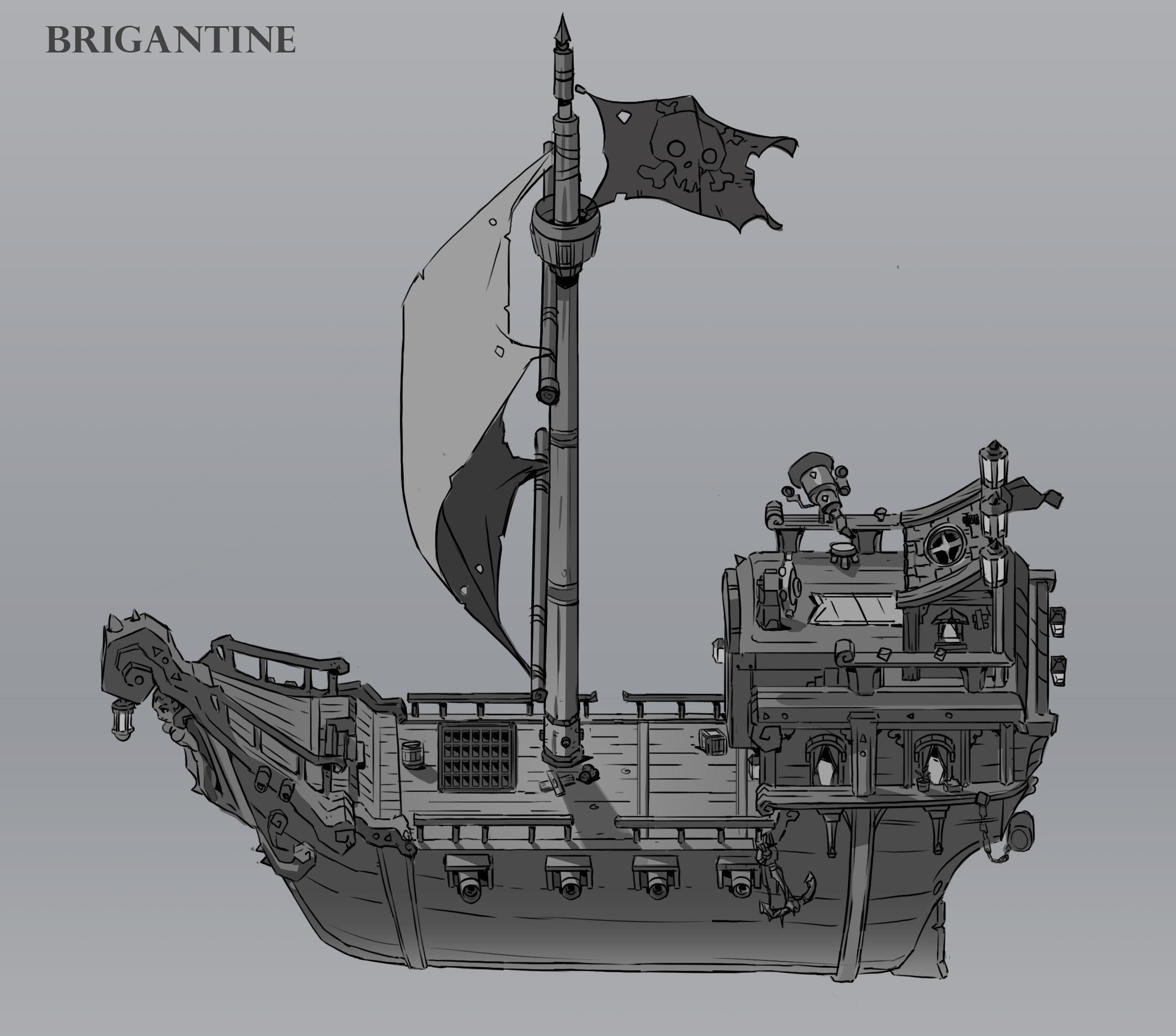 Pirate Ship Design