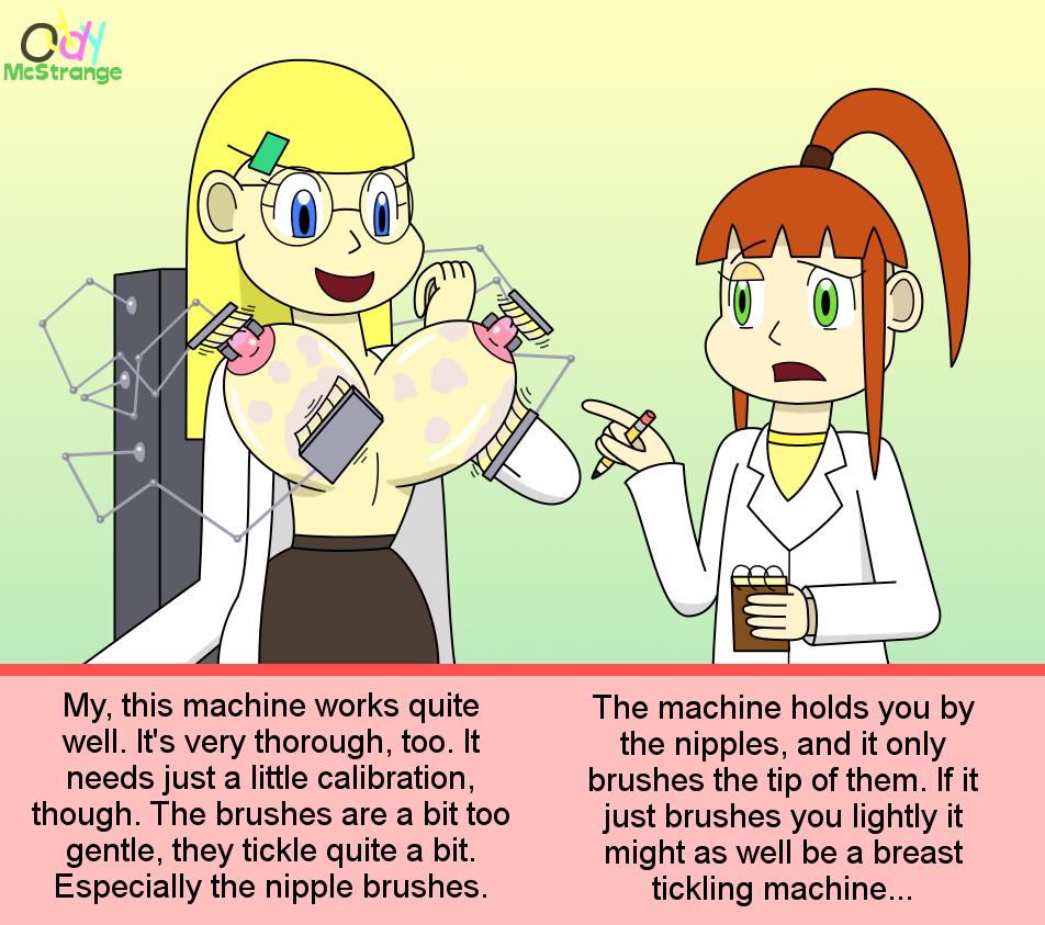 Gadget Testing - Breast Cleaner