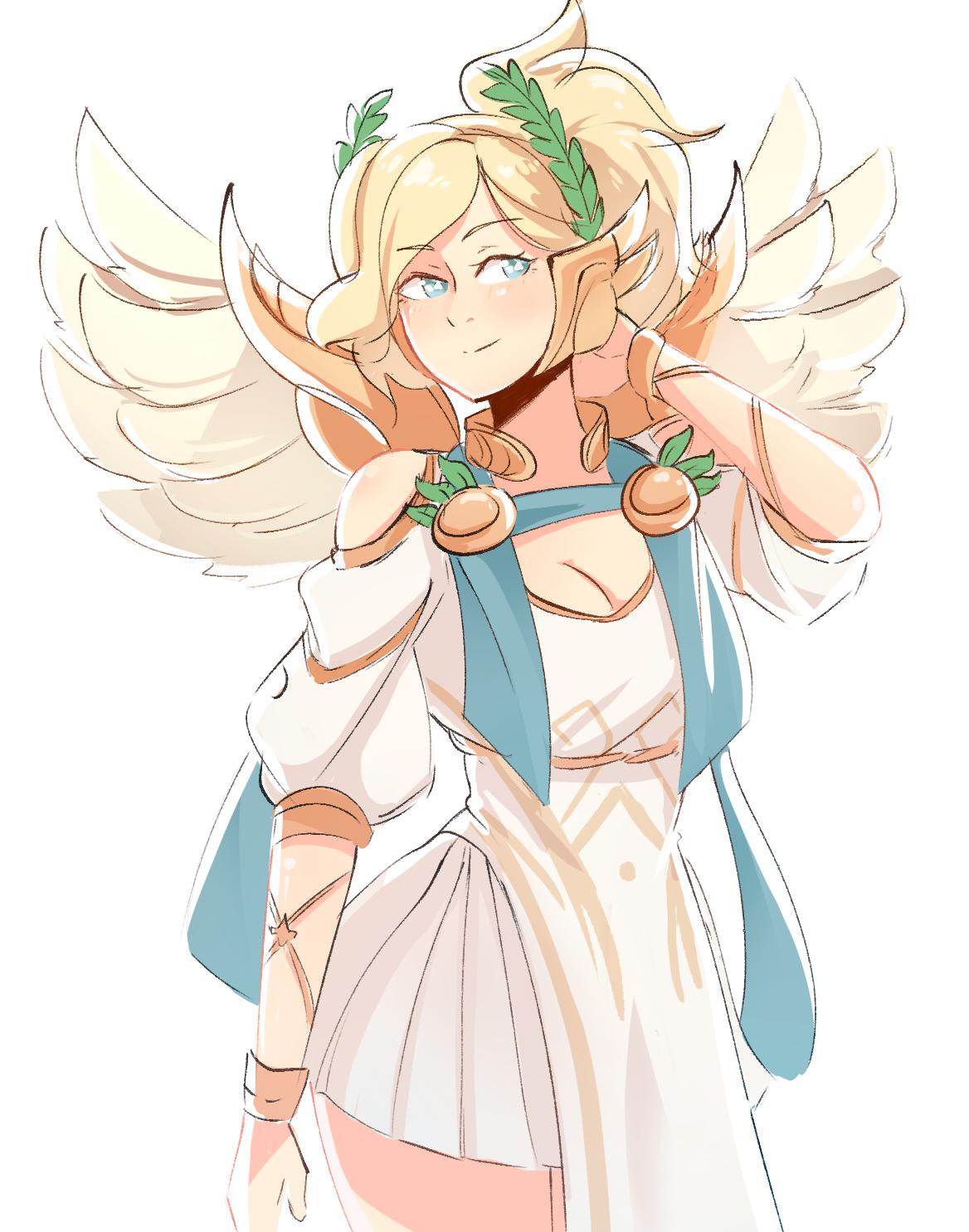 Winged Mercy