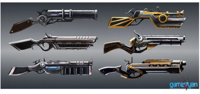Weapon Modeling of Antique Gun Pistols for your 3D Games
