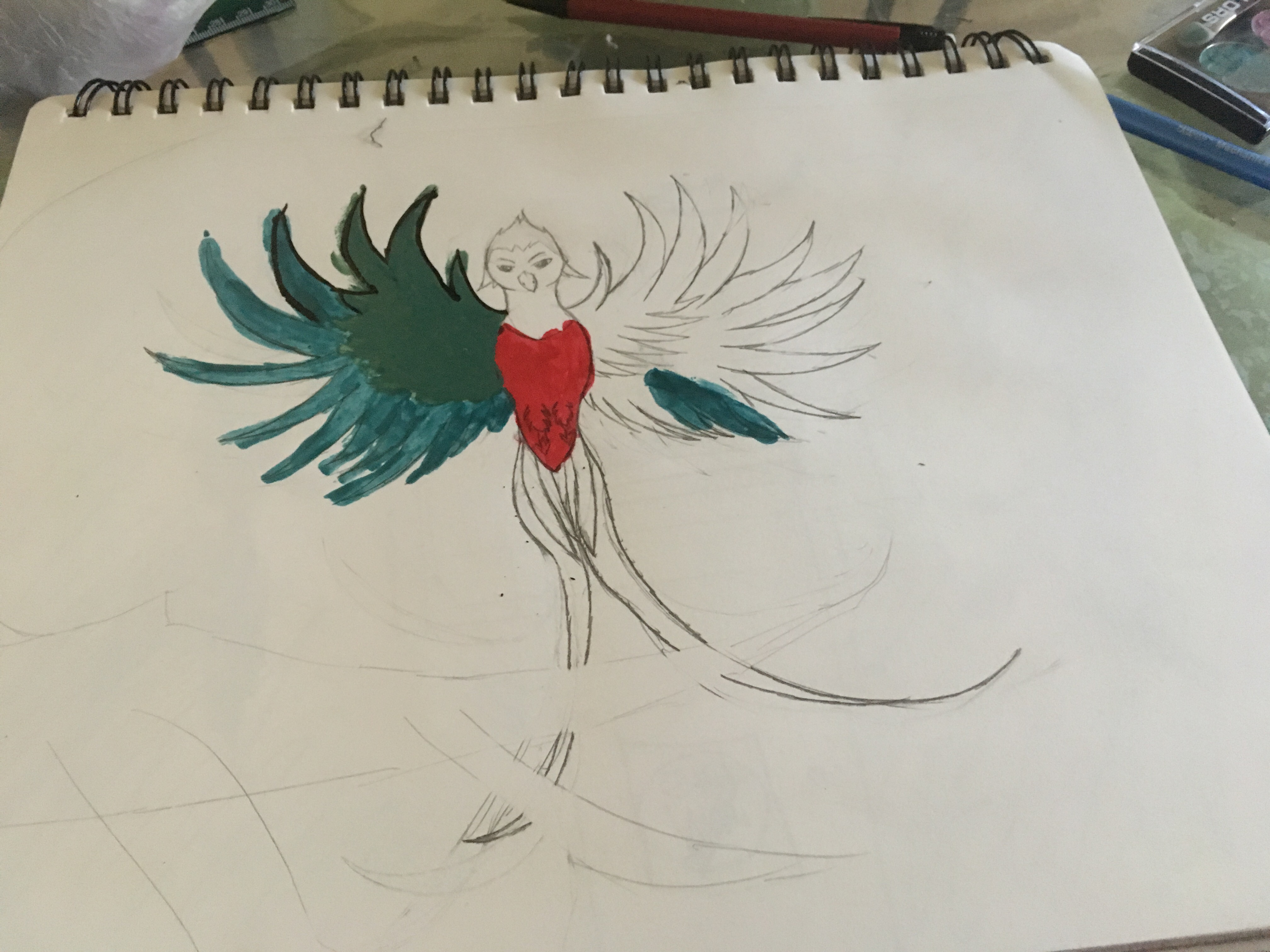 A Quetzal (Challange of the Month) PT 1