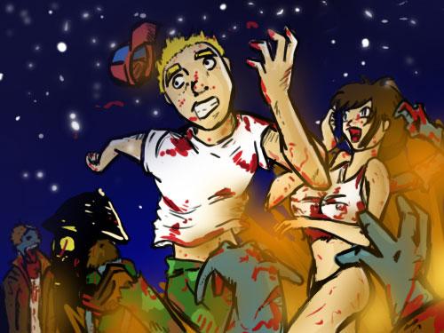 'Tis The Season To Be Zombies