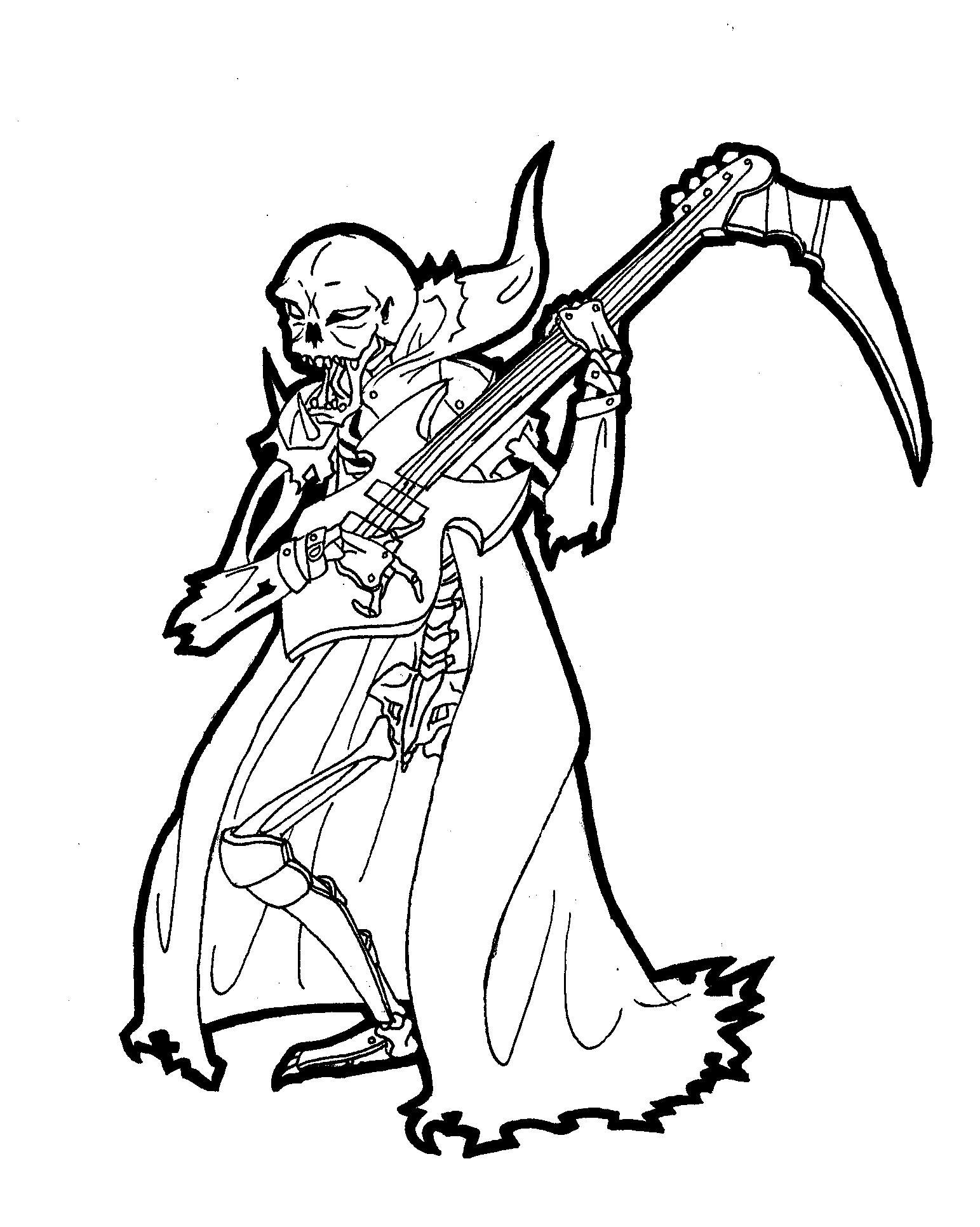 Reaper Bassist