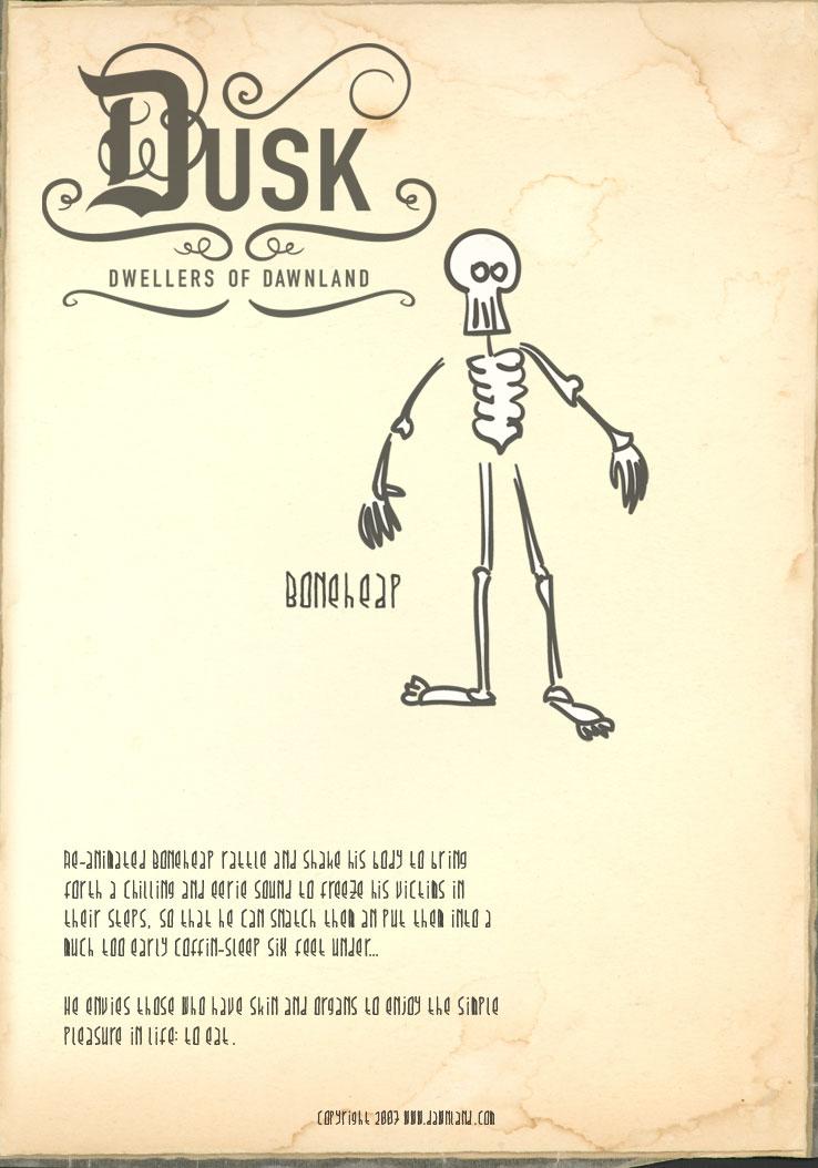 Dusk Dweller - BoneHeap