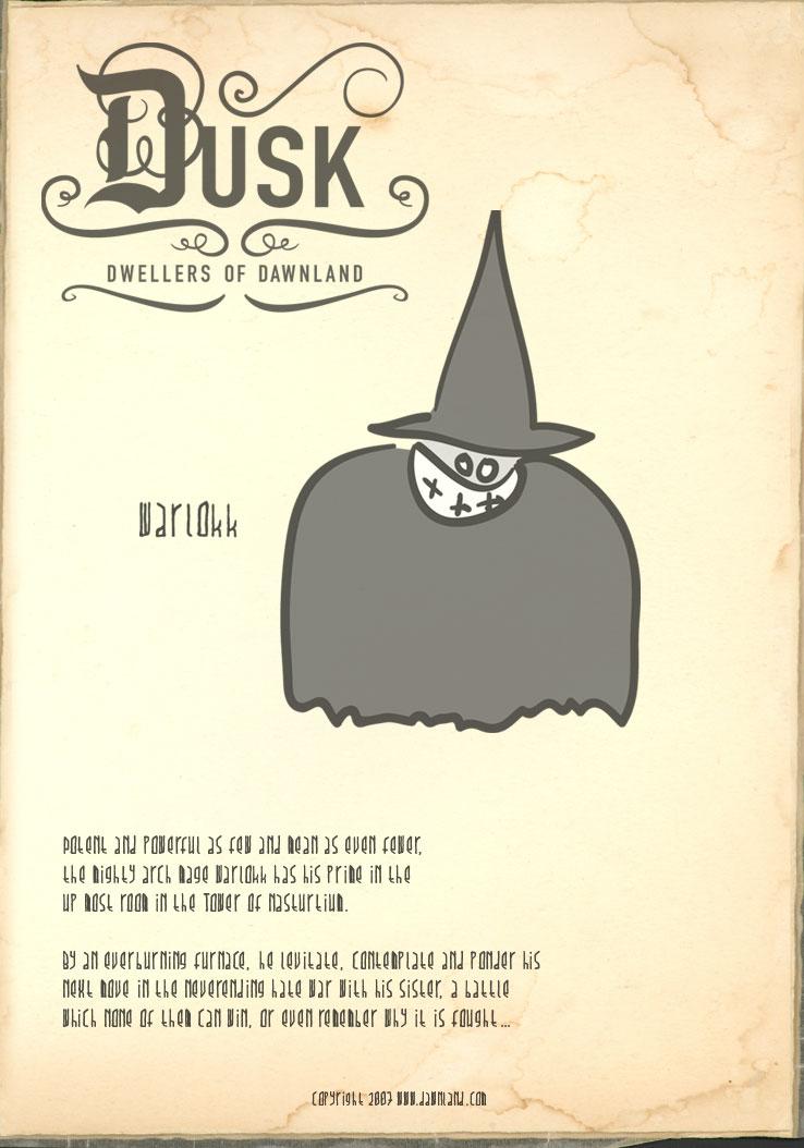 Dusk Dwellers - Warlokk