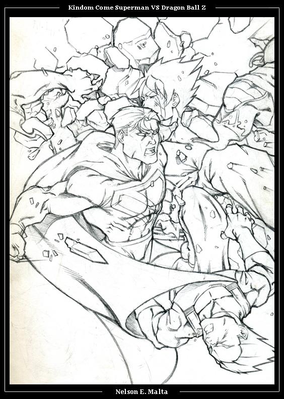 Kingdom Come Super-man VS DDZ