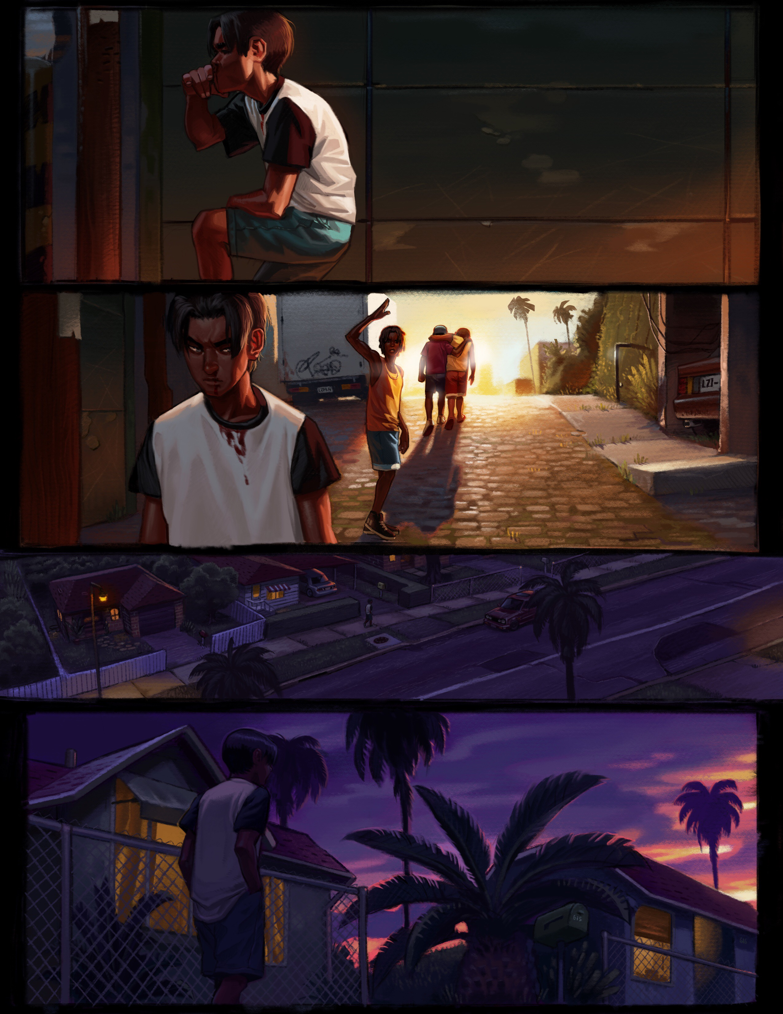Check My Credit >> Kings of Nowhere- Page 2 by Rooshie on Newgrounds