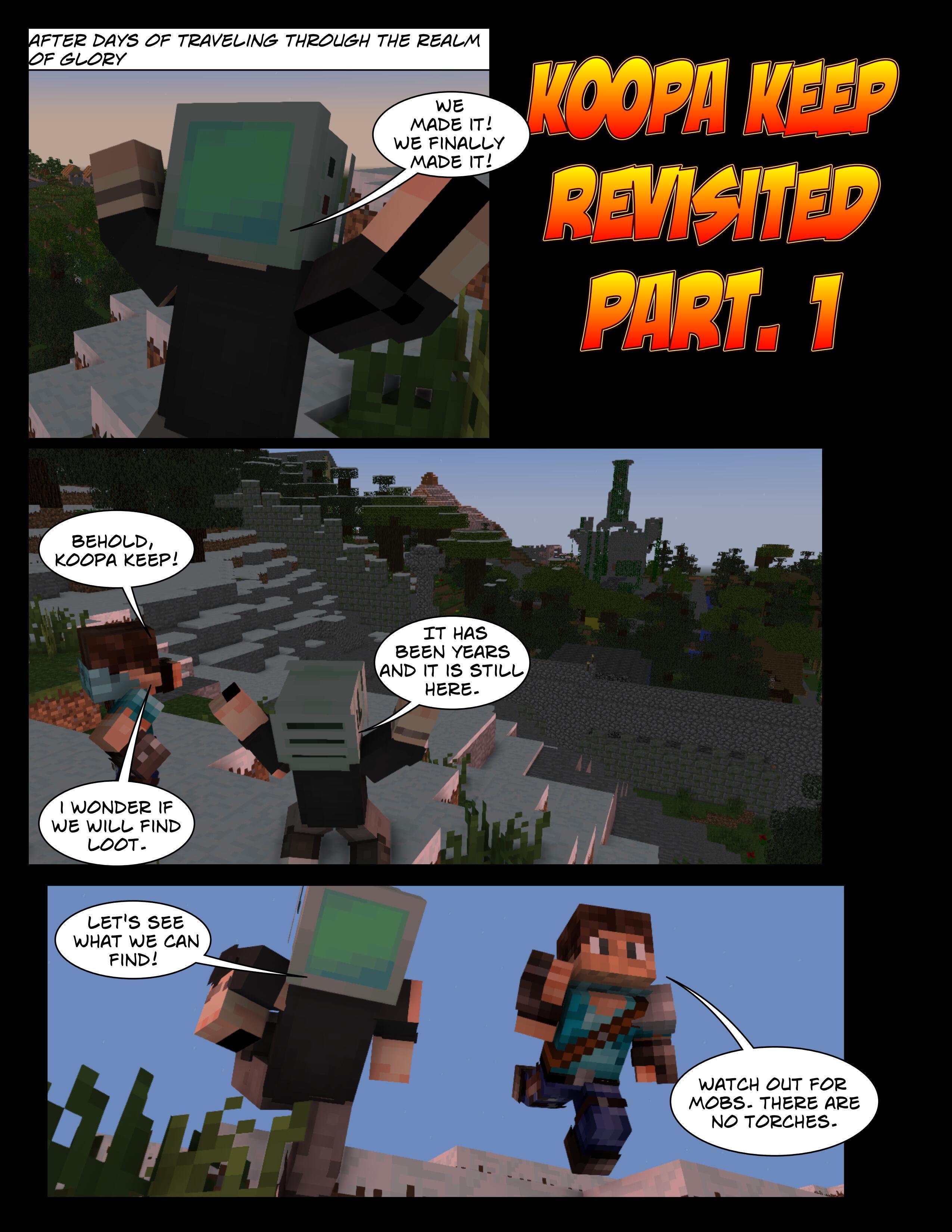 Koopa Keep Revisited Comic pg.1