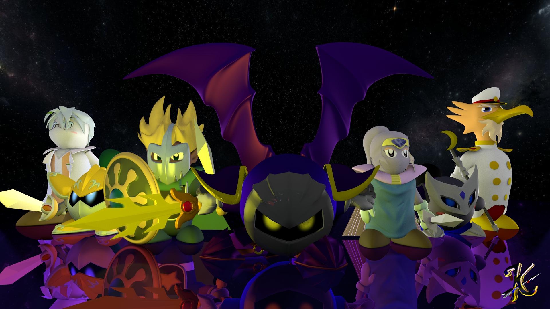 Kirby and Metaknight by SakikoAmana ...