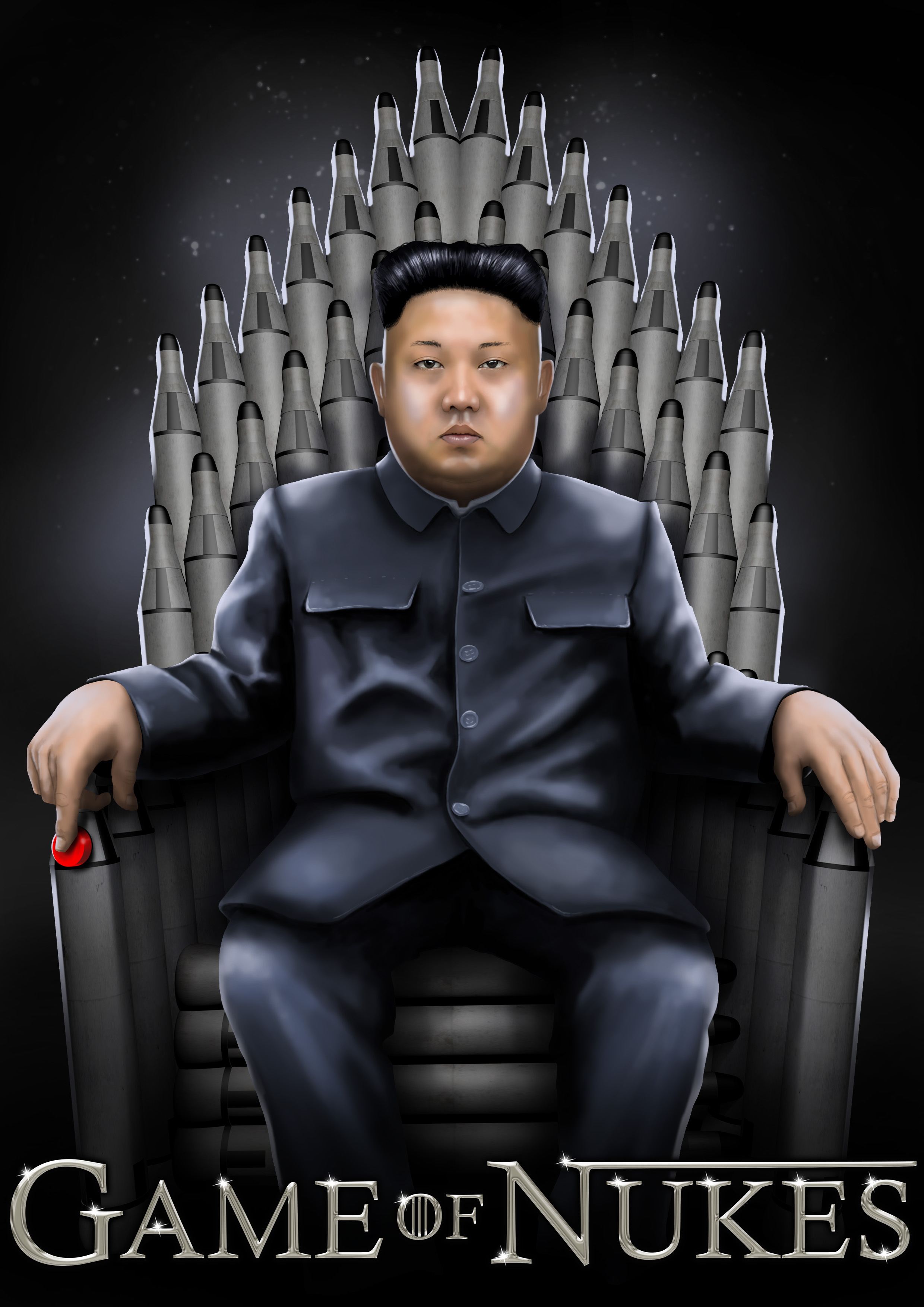 Kim Jong Un in Game of Nukes
