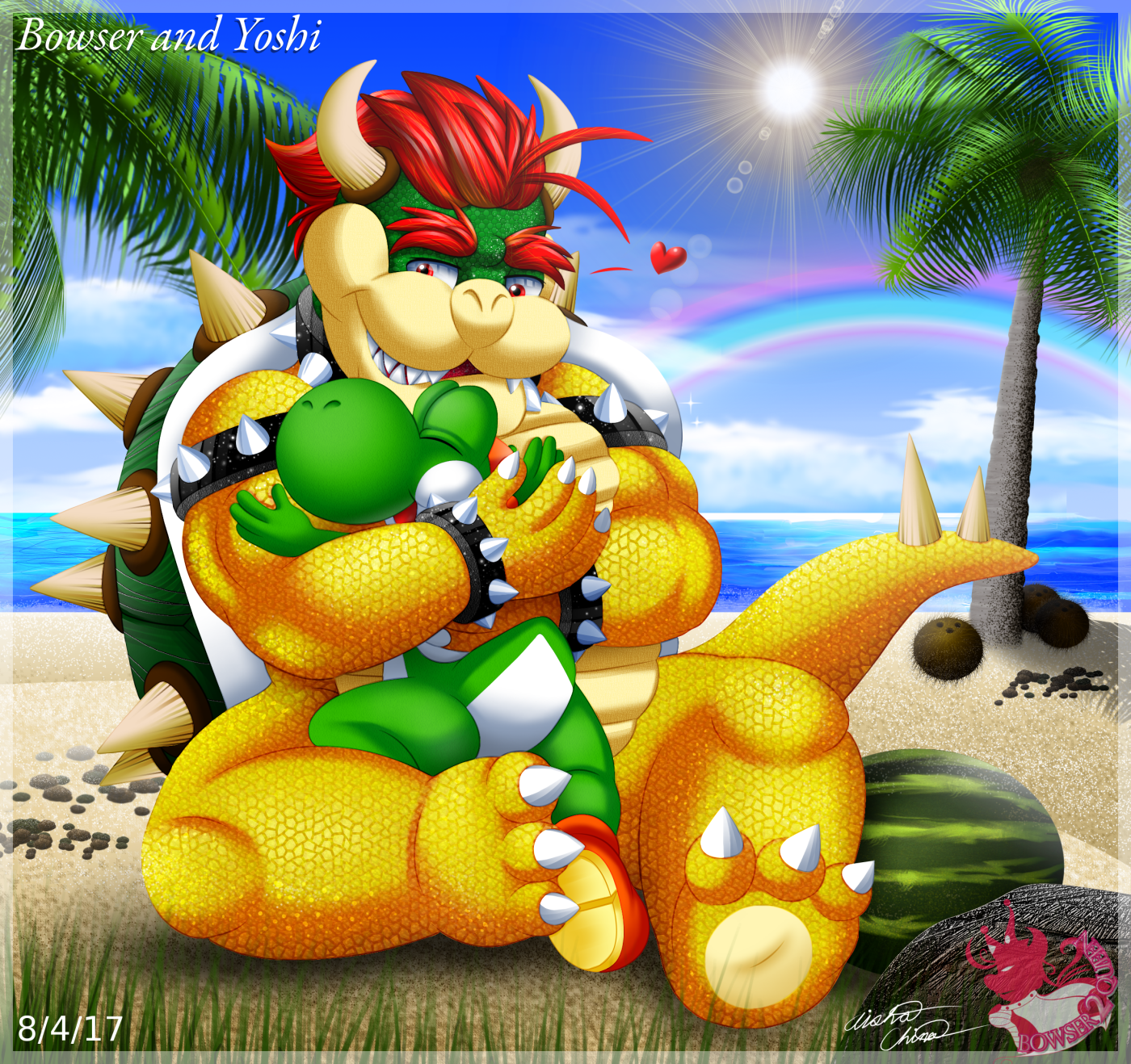 Yoshi X Birdo by Bowser2Queen on DeviantArt |Bowser Loves Yoshi