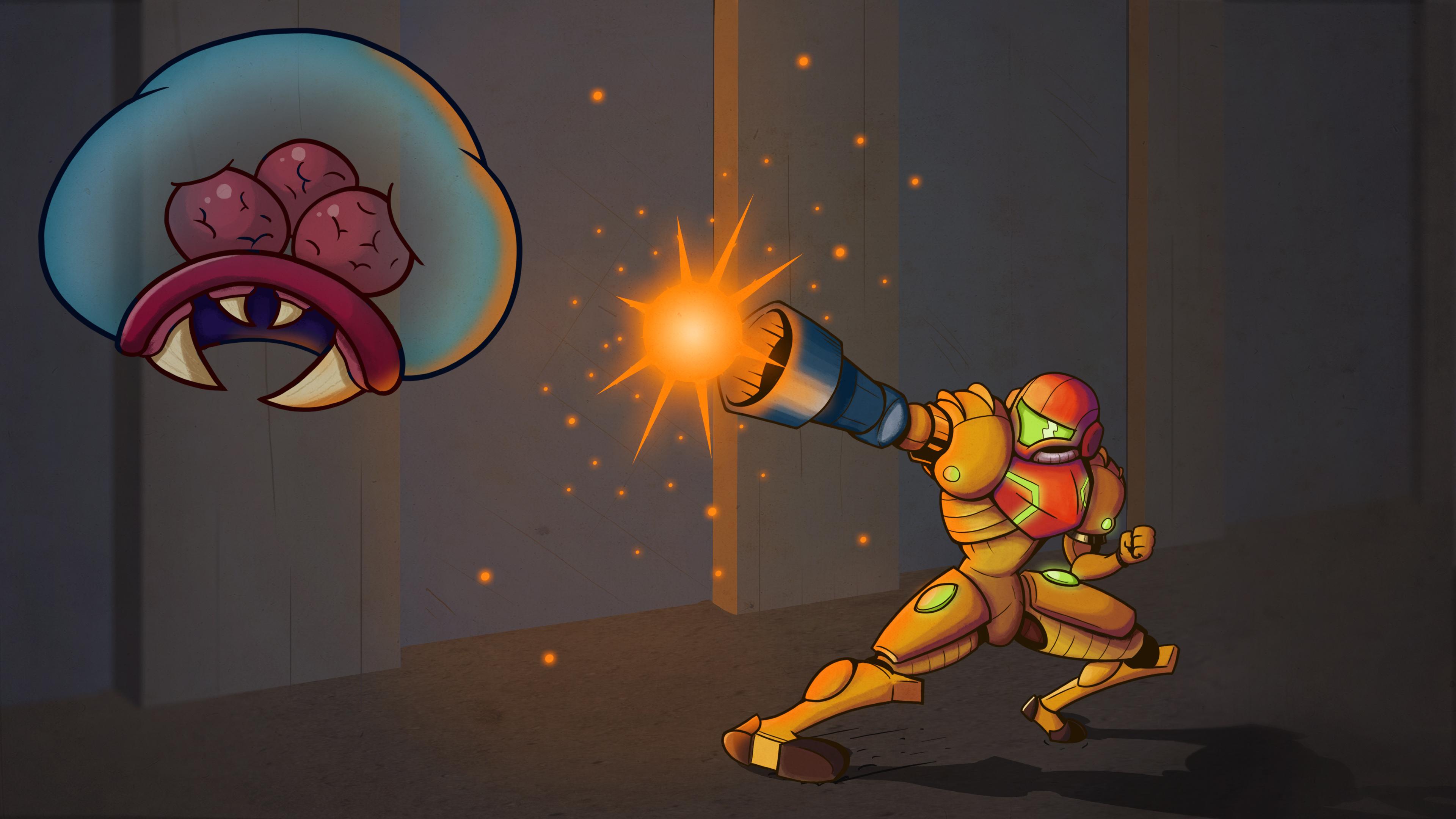 Samus vs Metroid