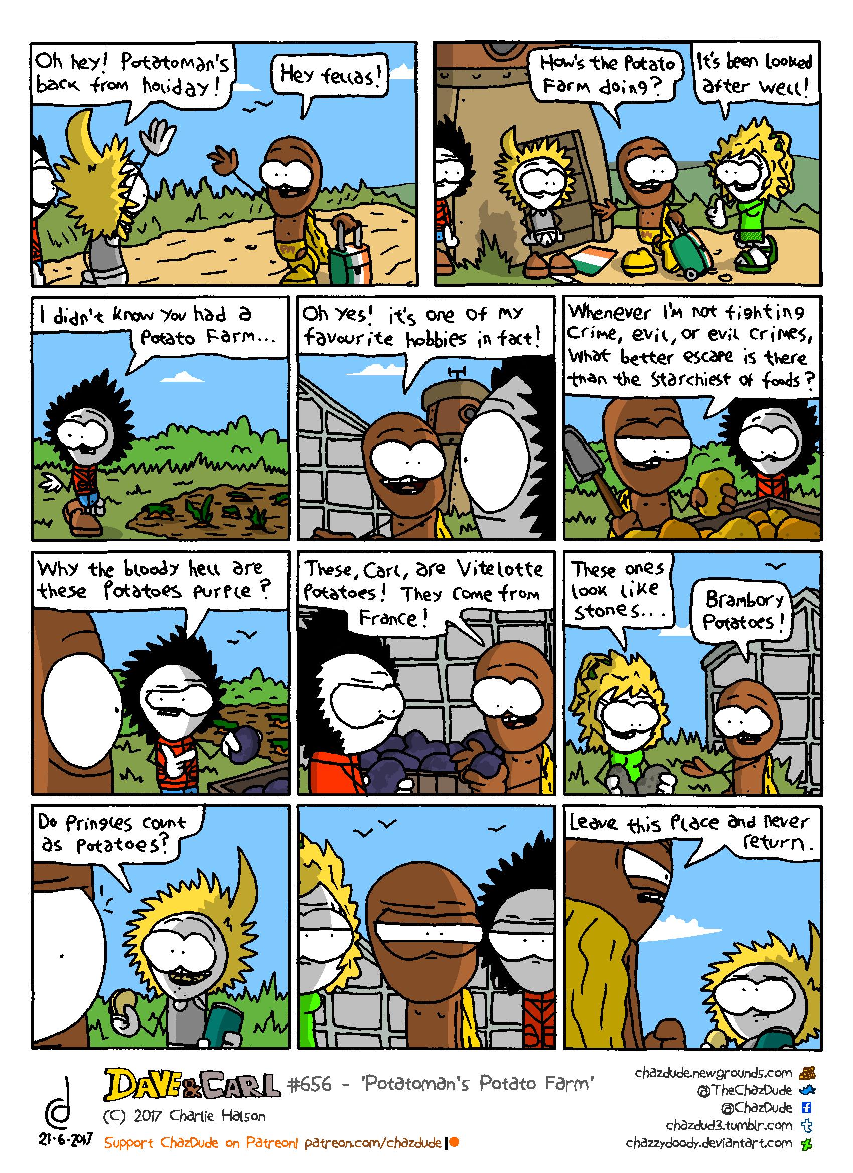 Potatoman's Potato Farm