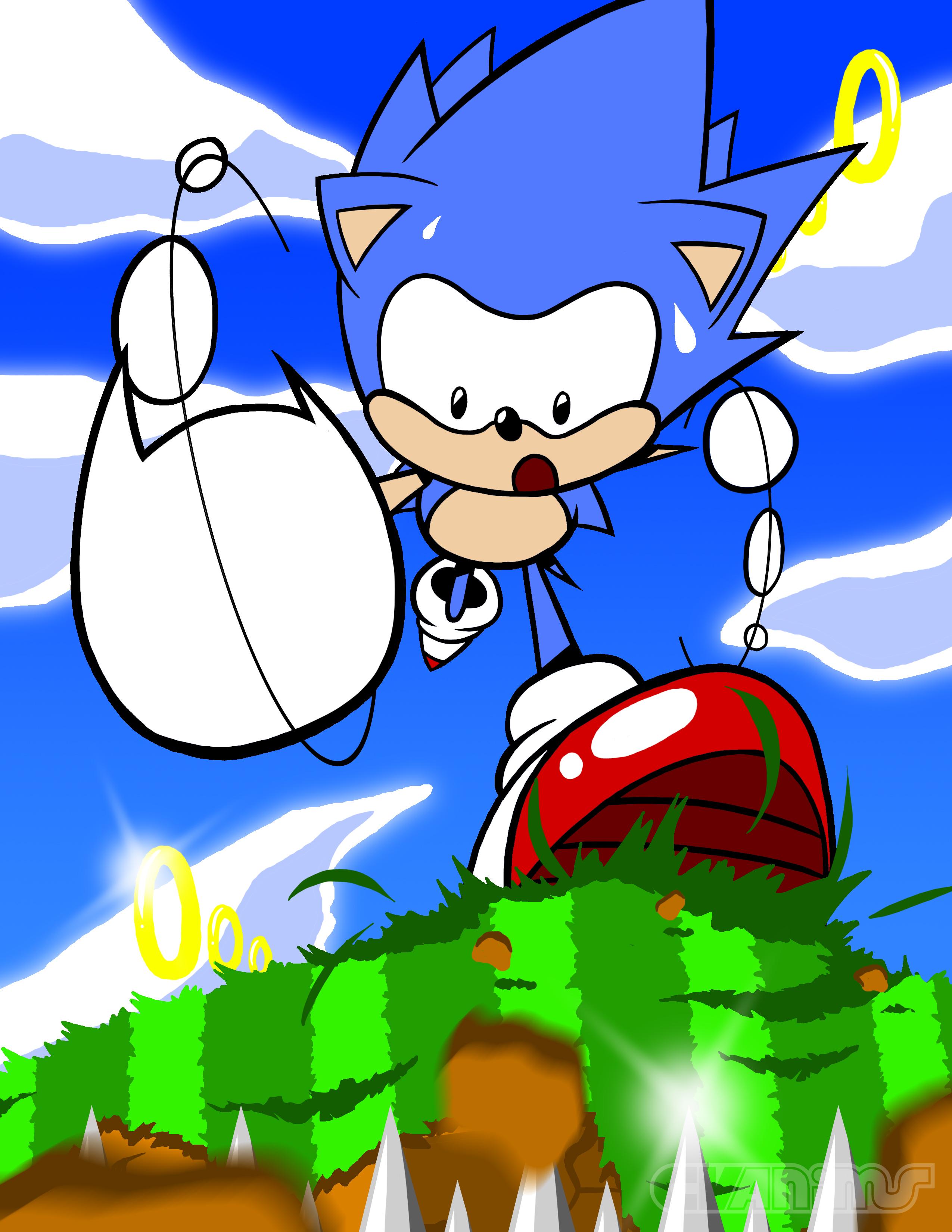 SONIC MANIA | Classic Sonic