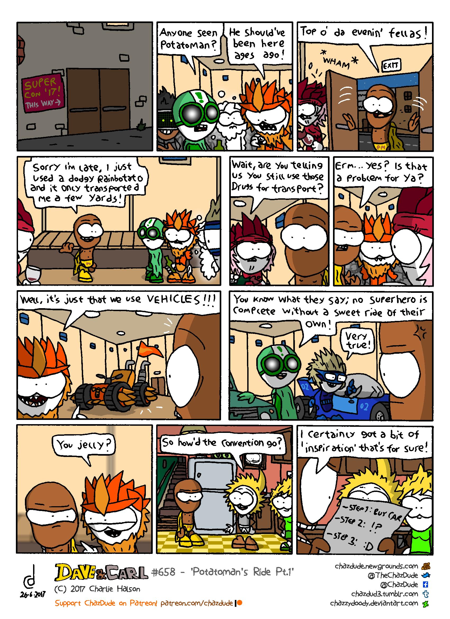 Potatoman's Ride Pt.1
